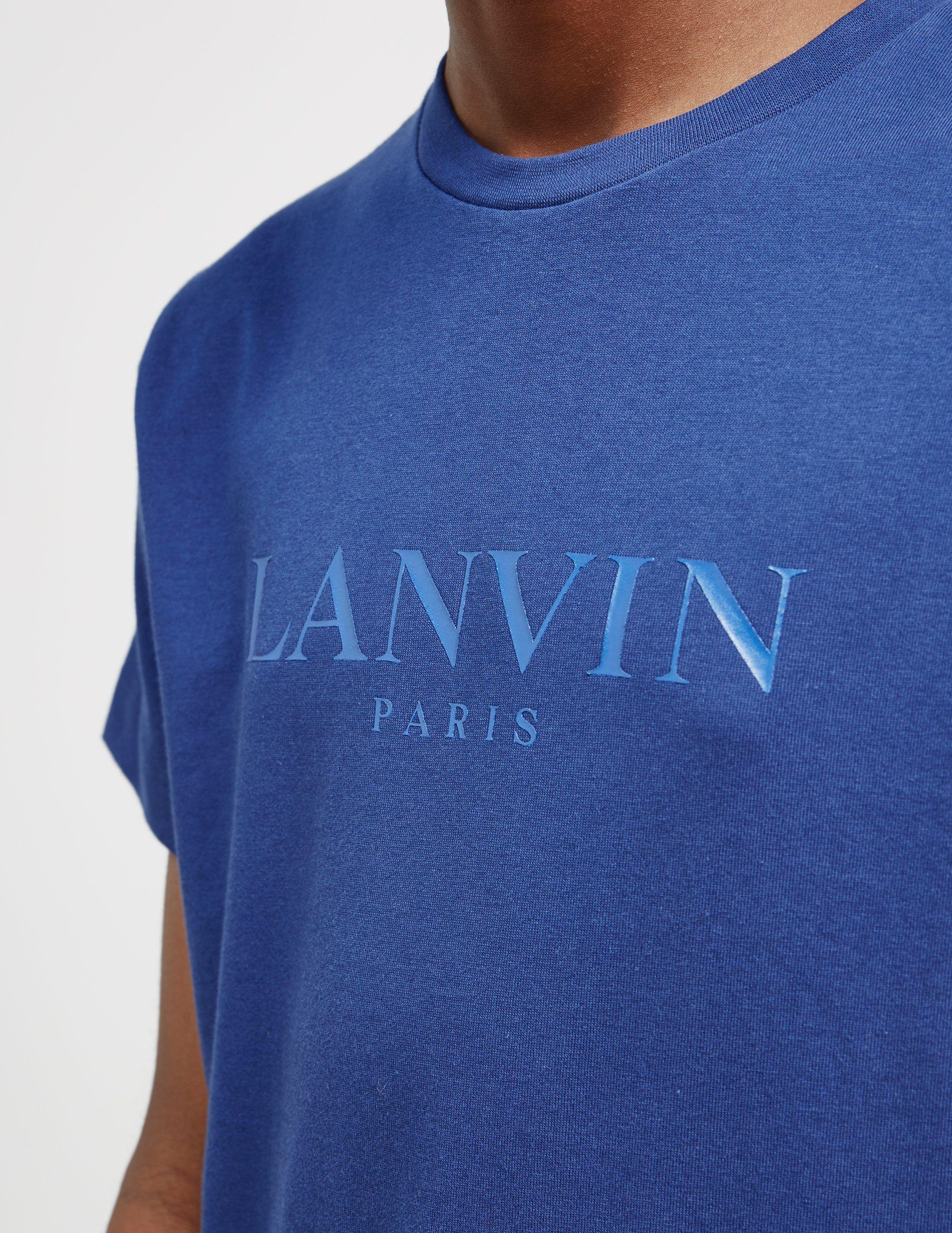 Lanvin Basic Logo Short Sleeve T-Shirt