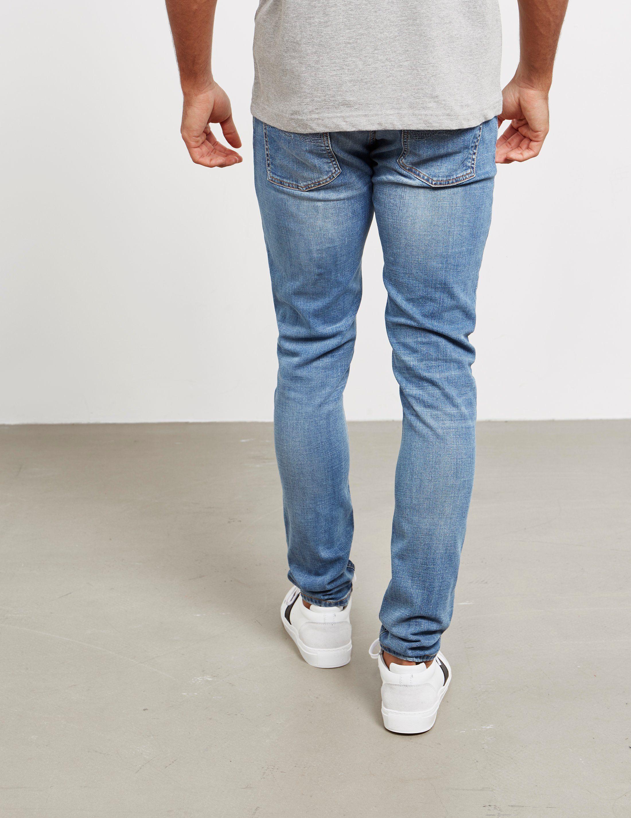 Nudie Jeans Skinny Worn Jeans