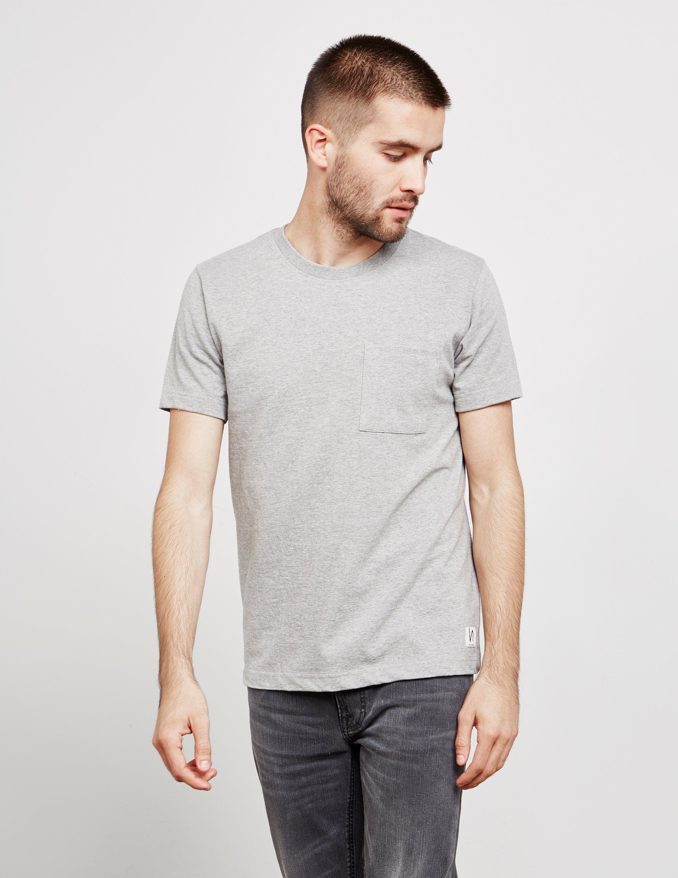 Nudie Jeans Worker Short Sleeve T-Shirt