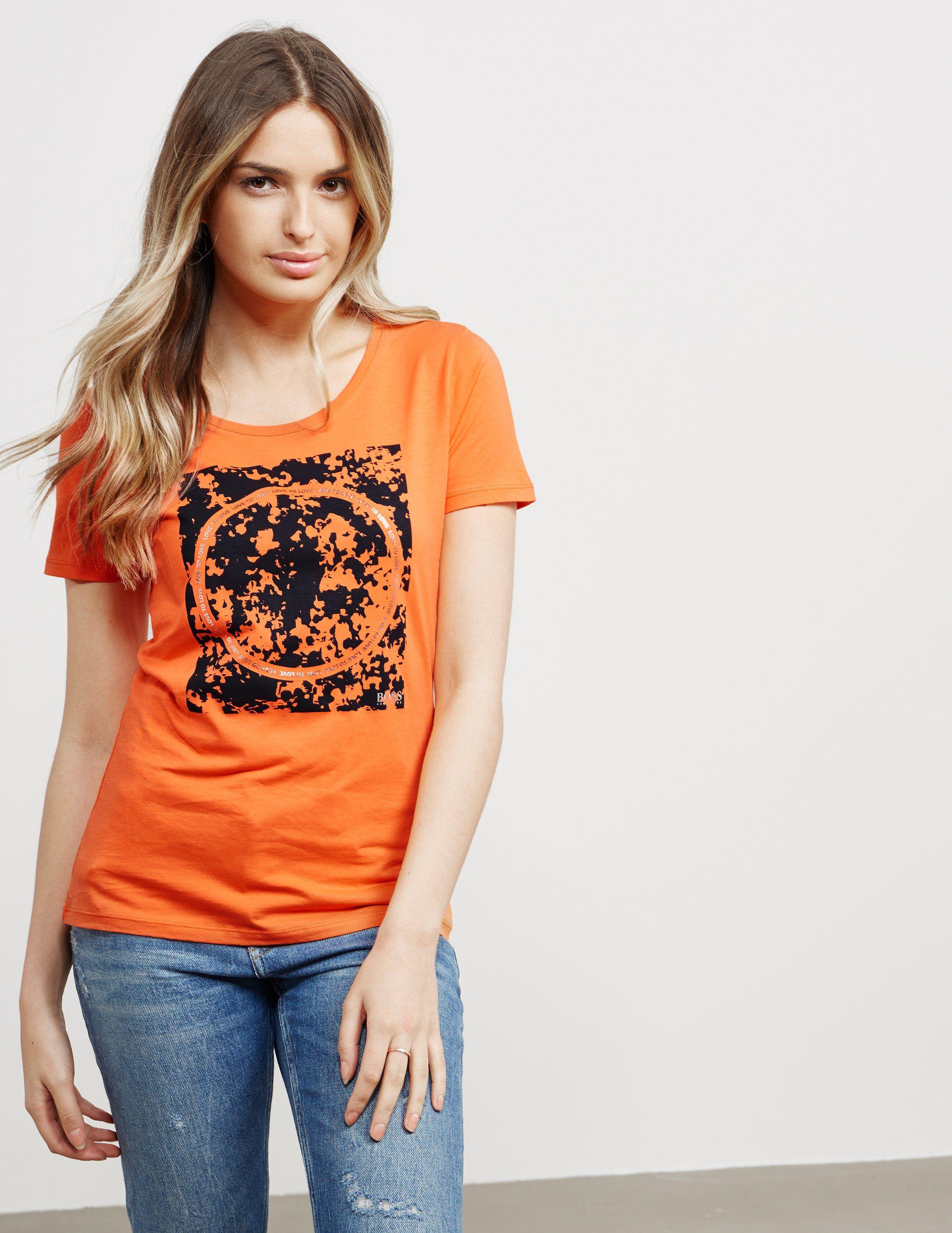 BOSS Circle Short Sleeve T-Shirt - Online Exclusive