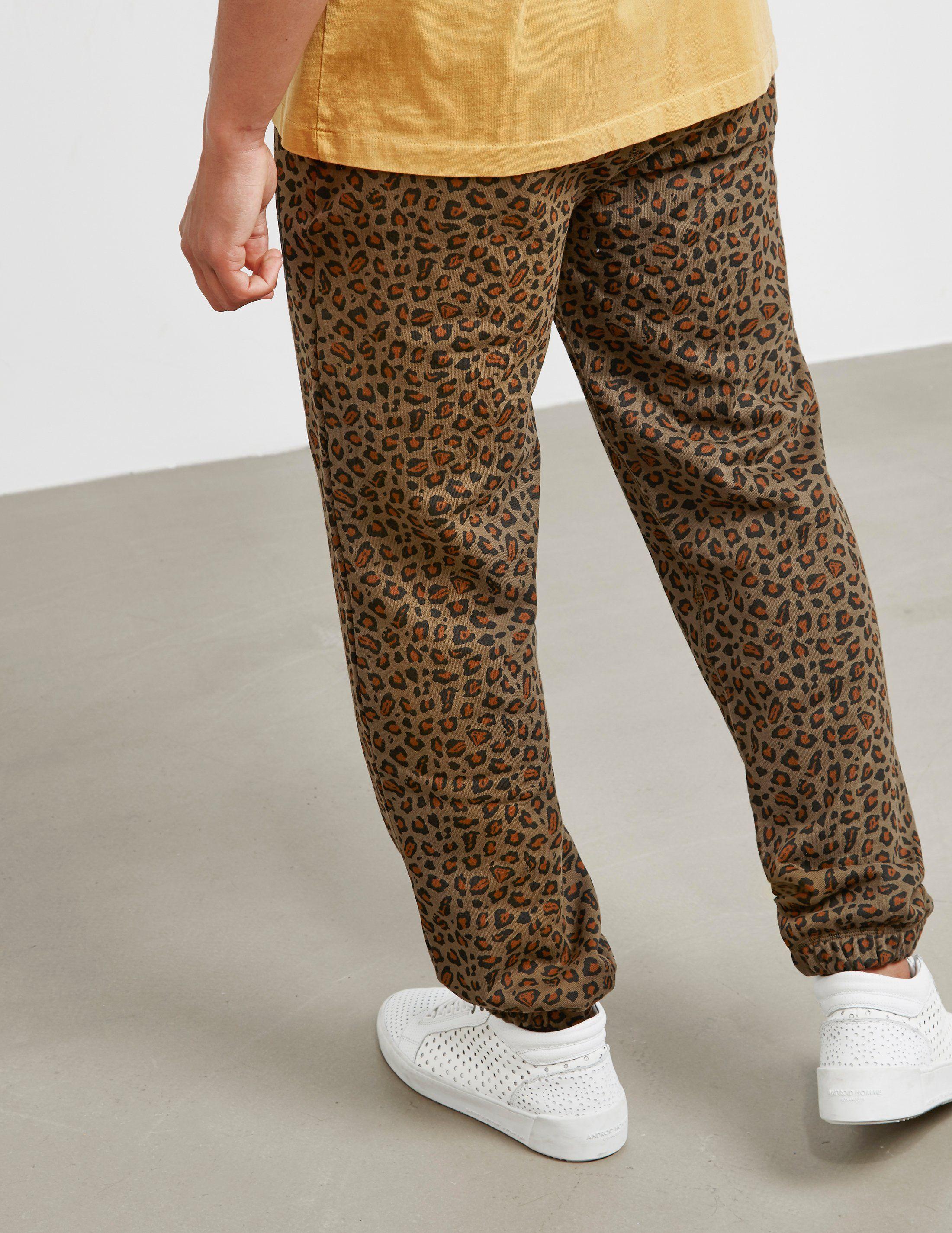 Billionaire Boys Club Leopard Print Track Pants