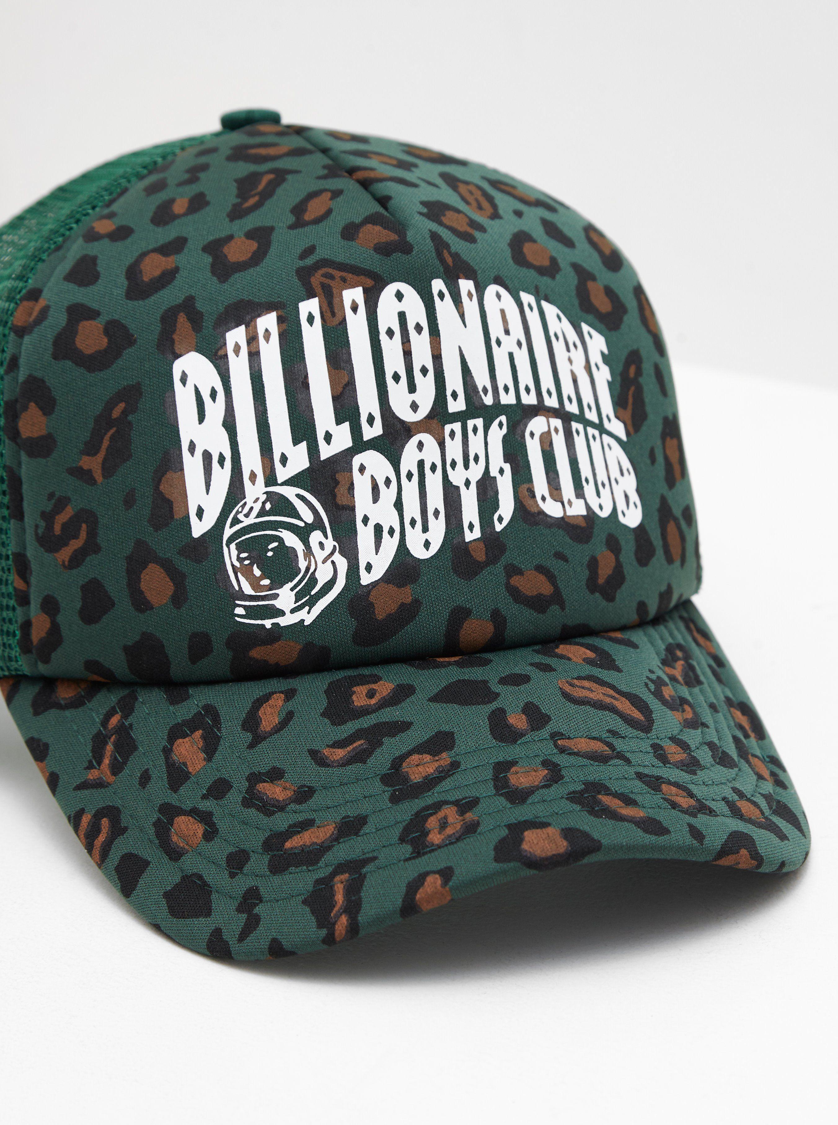 Billionaire Boys Club Leopard Trucker Cap