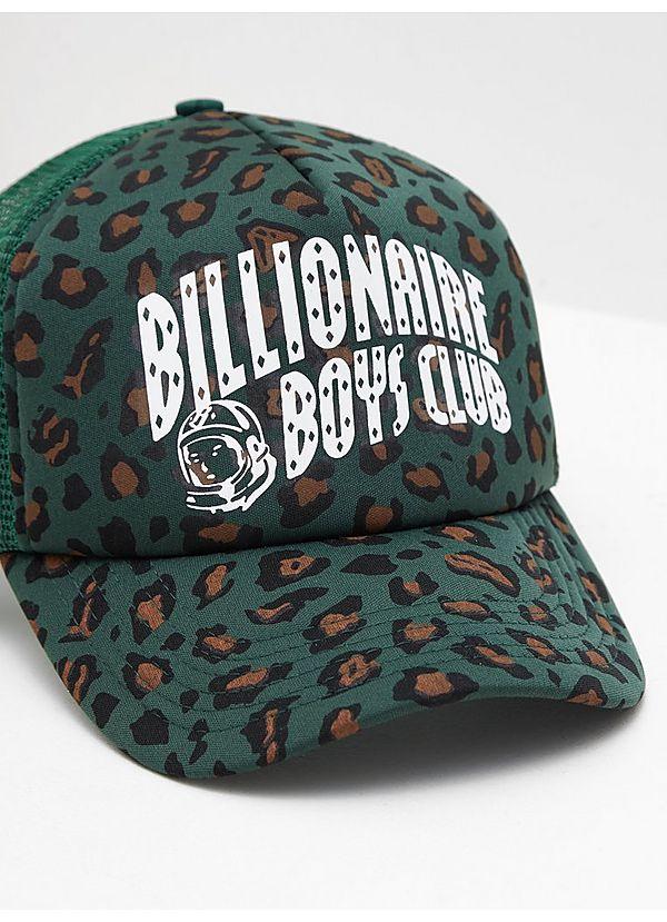 3d31e88c1c2 Billionaire Boys Club Leopard Trucker Cap
