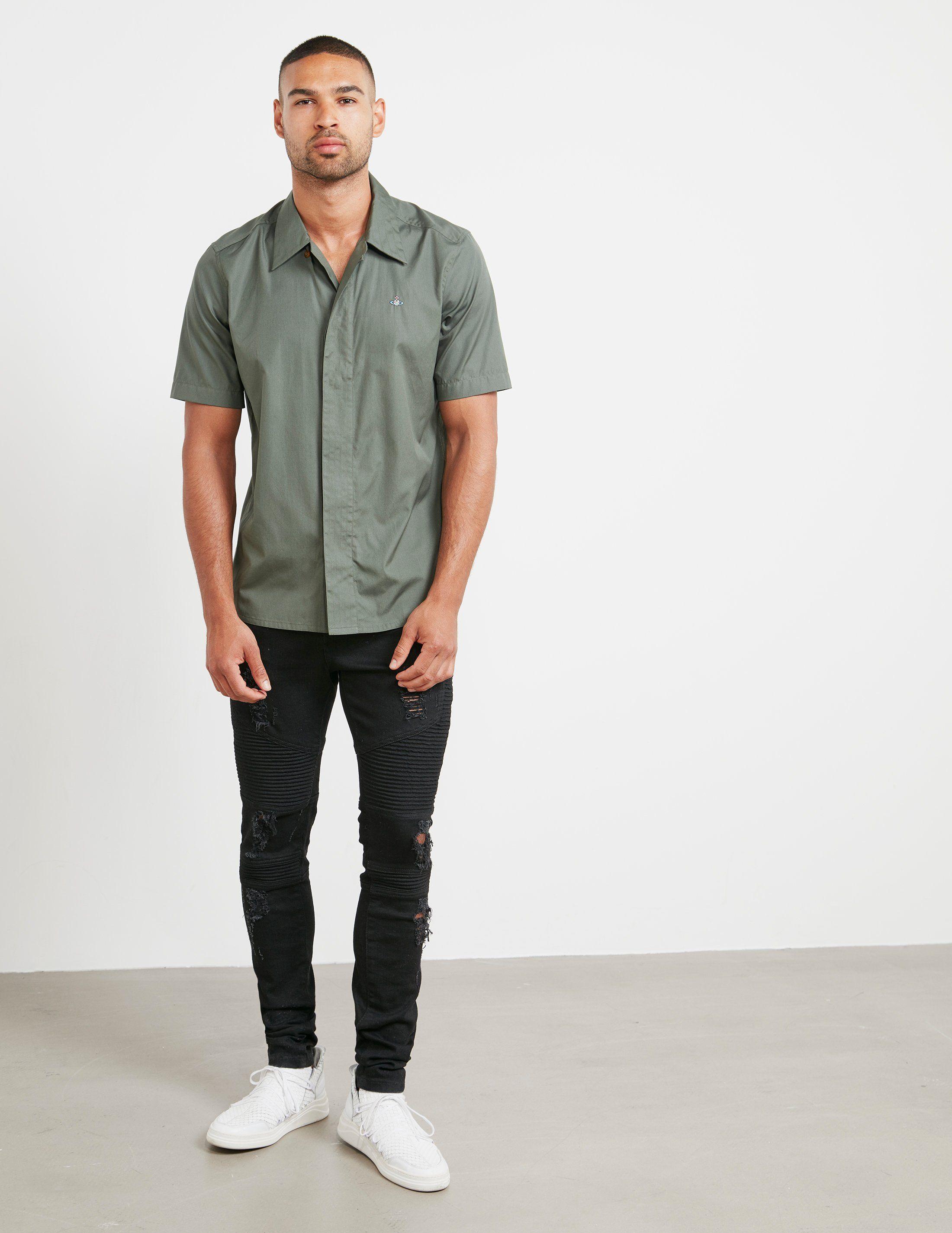 Vivienne Westwood Concealed Placket Short Sleeve Shirt