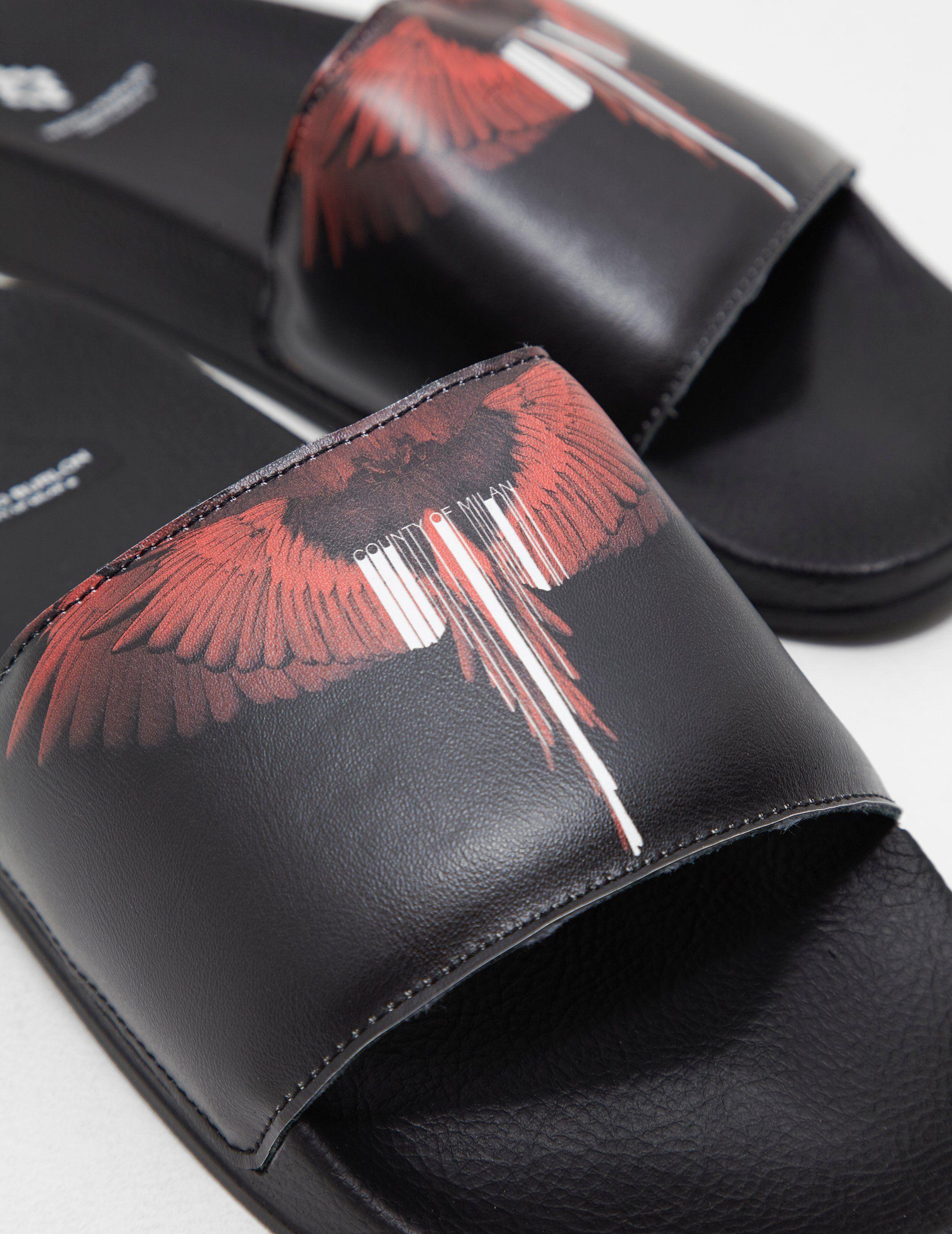 Marcelo Burlon Wings Slides