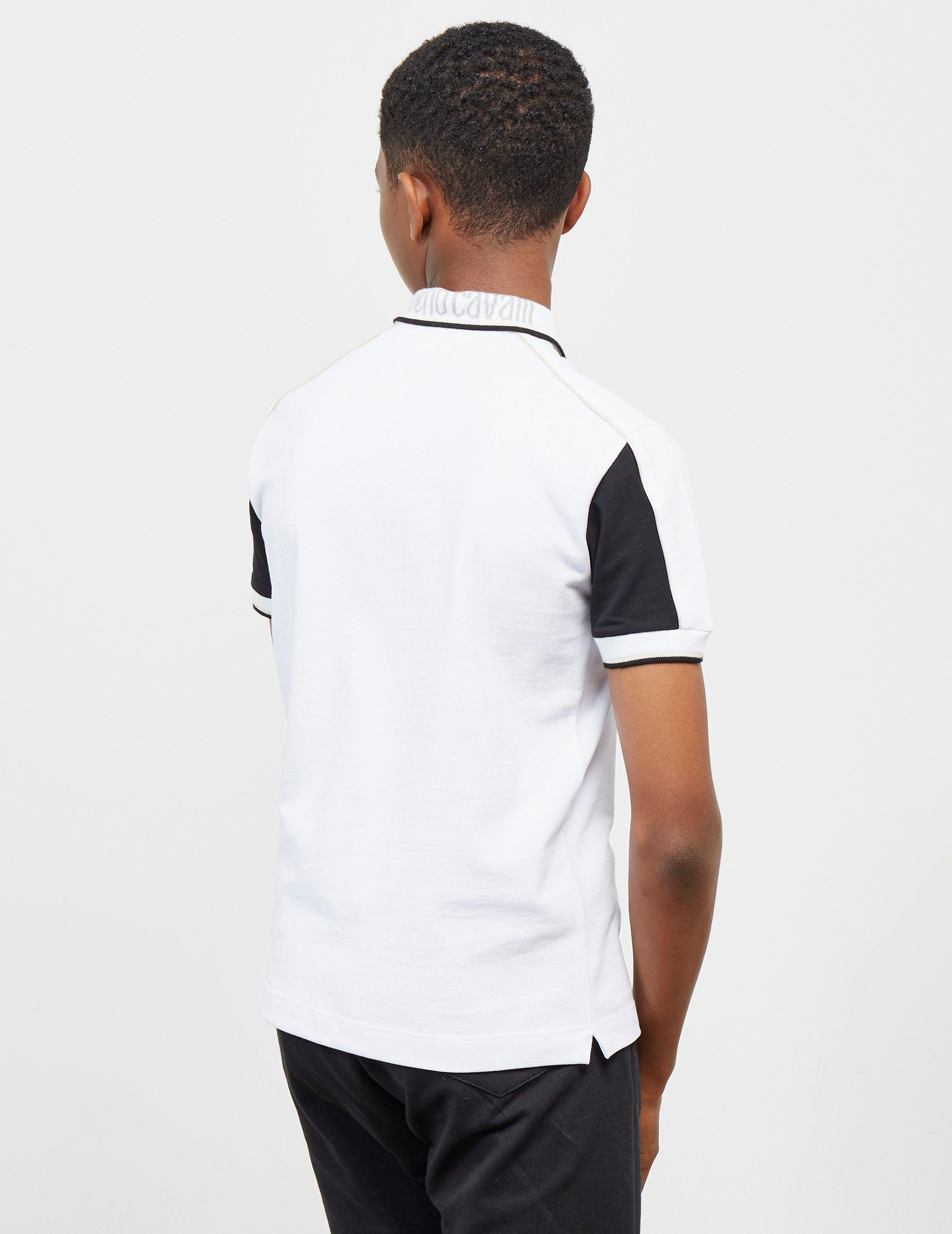 Roberto Cavalli Pique Short Sleeve Polo Shirt
