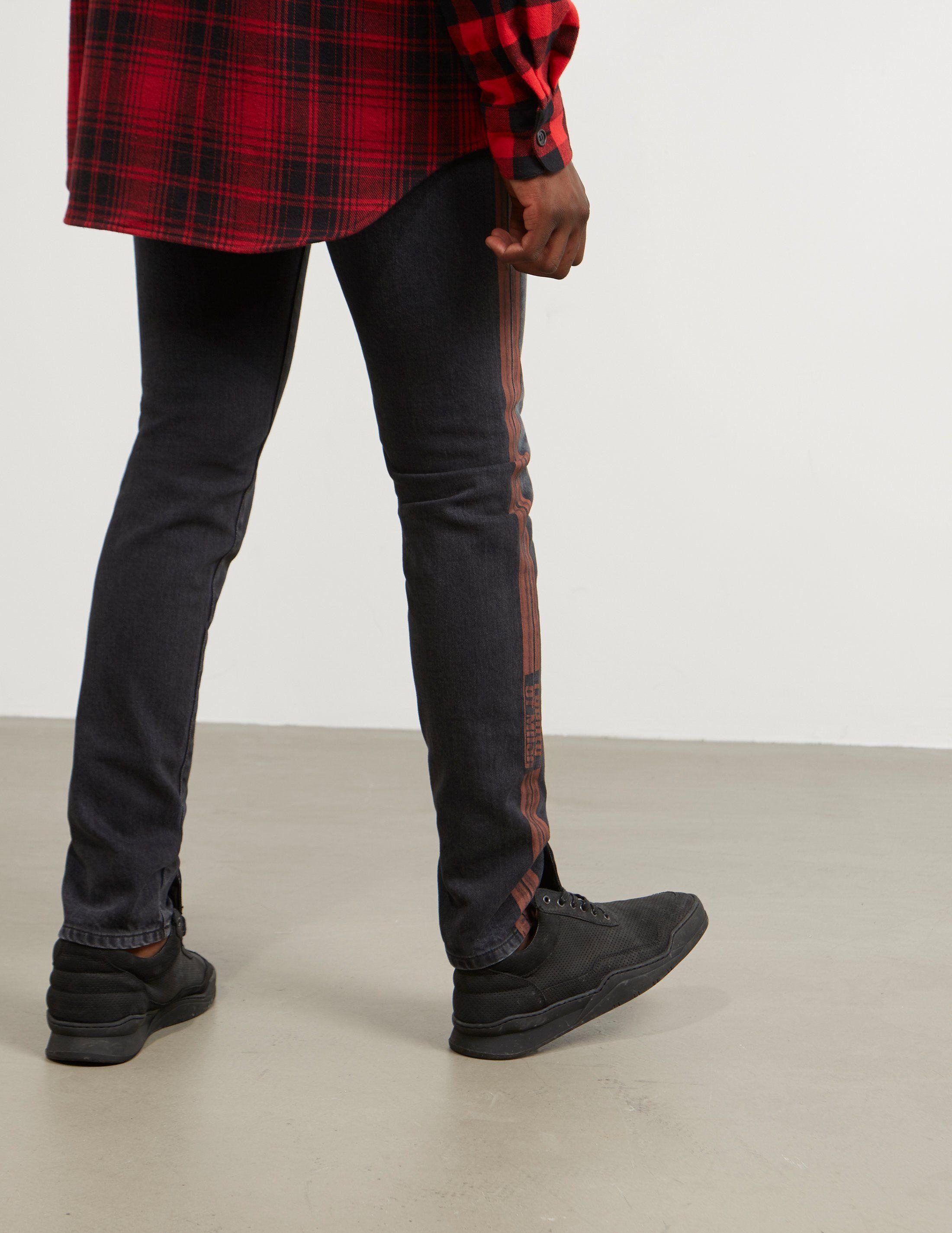 Marcelo Burlon Stripe Jeans - Online Exclusive