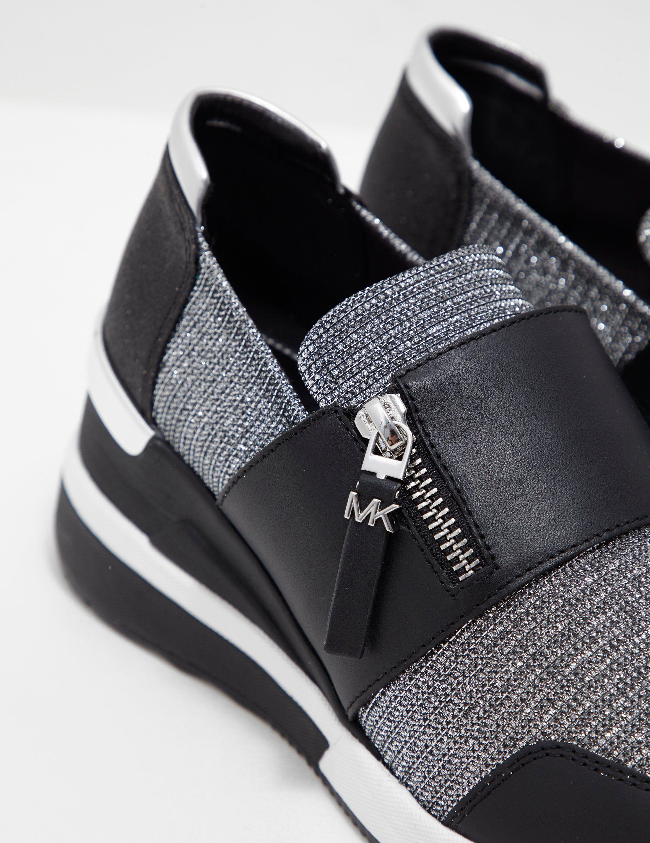 Michael Kors Chelsie Glitter Trainers - Online Exclusive