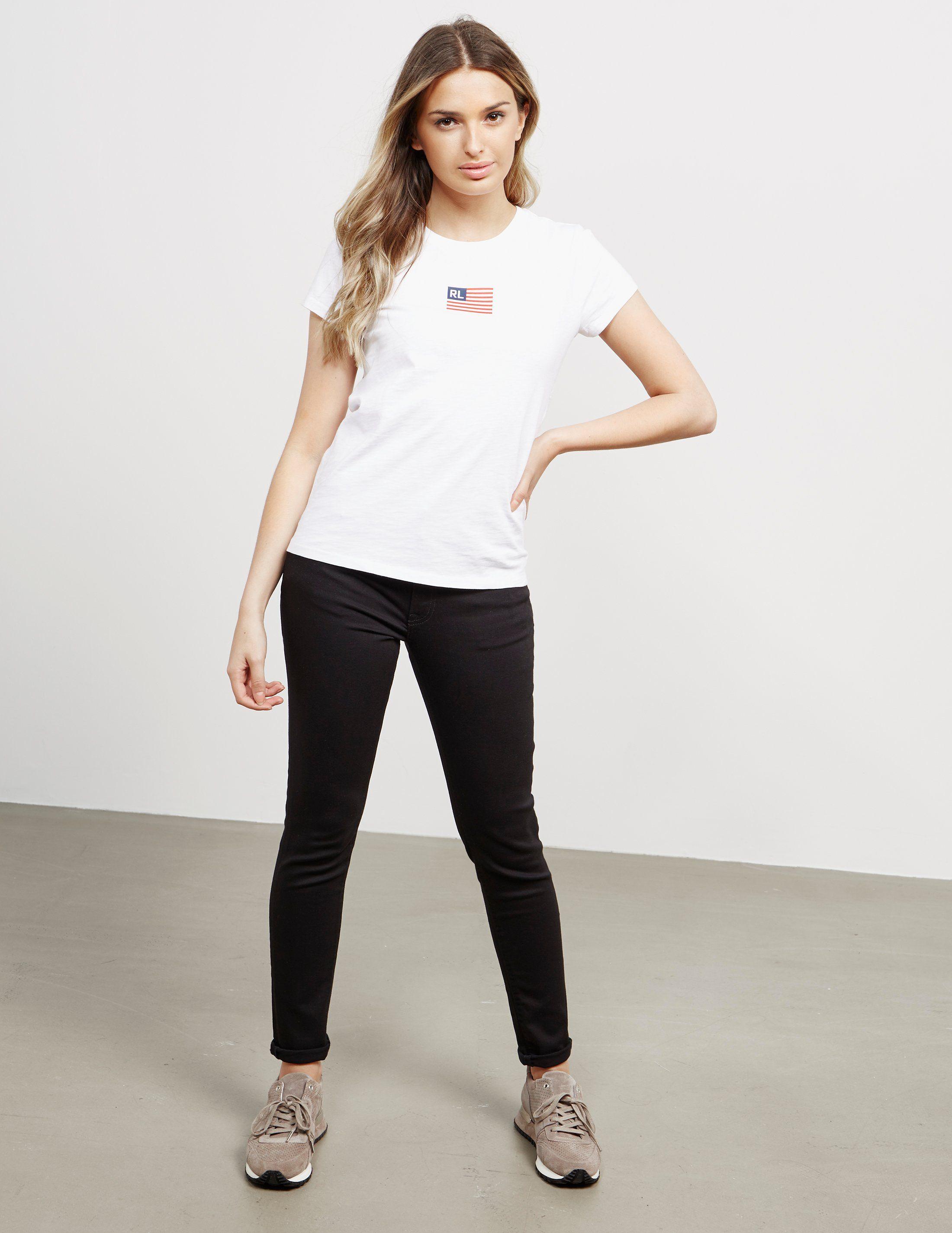 Polo Ralph Lauren Tiny Flag Short Sleeve T-Shirt