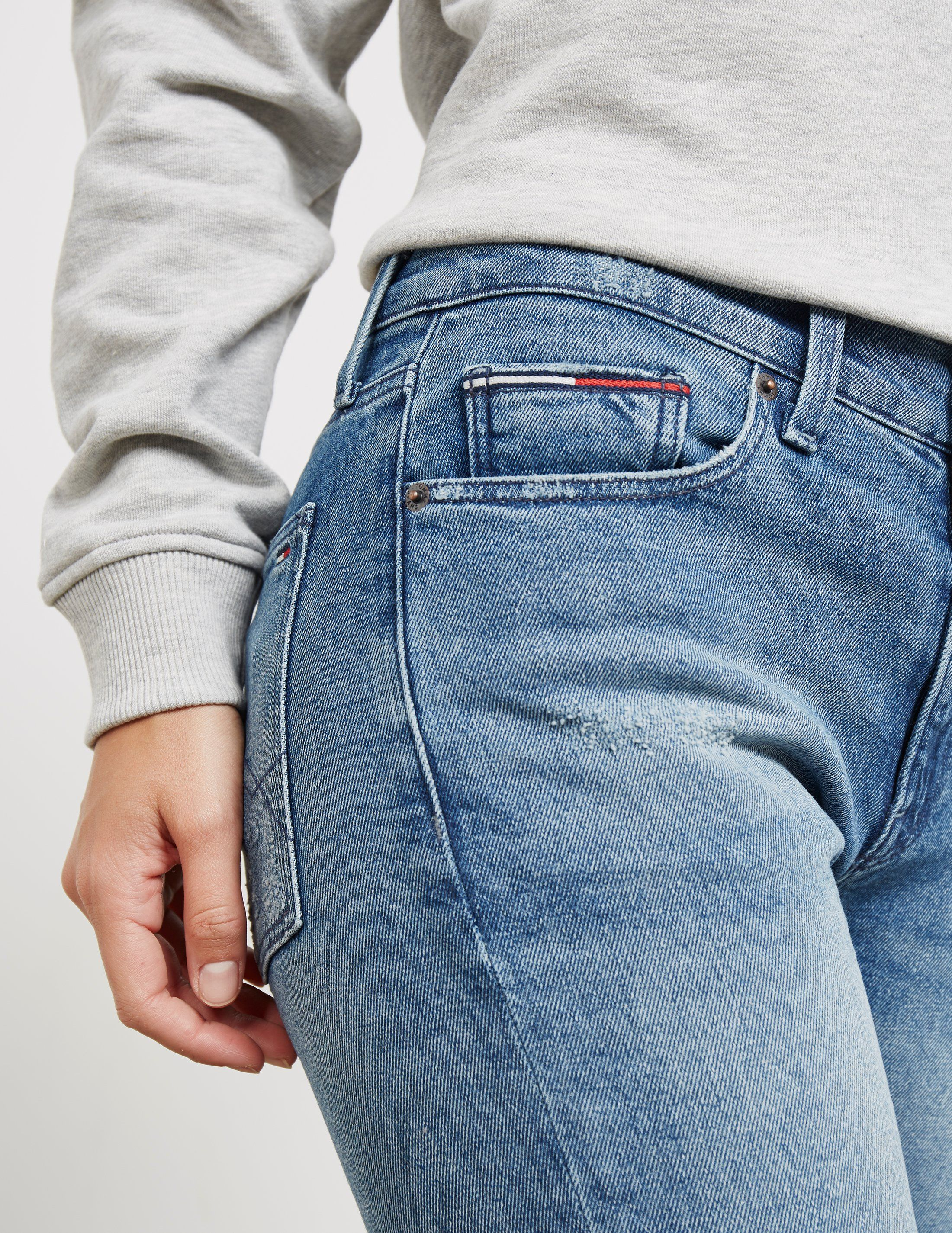 Tommy Jeans Izzy High Waisted Jeans