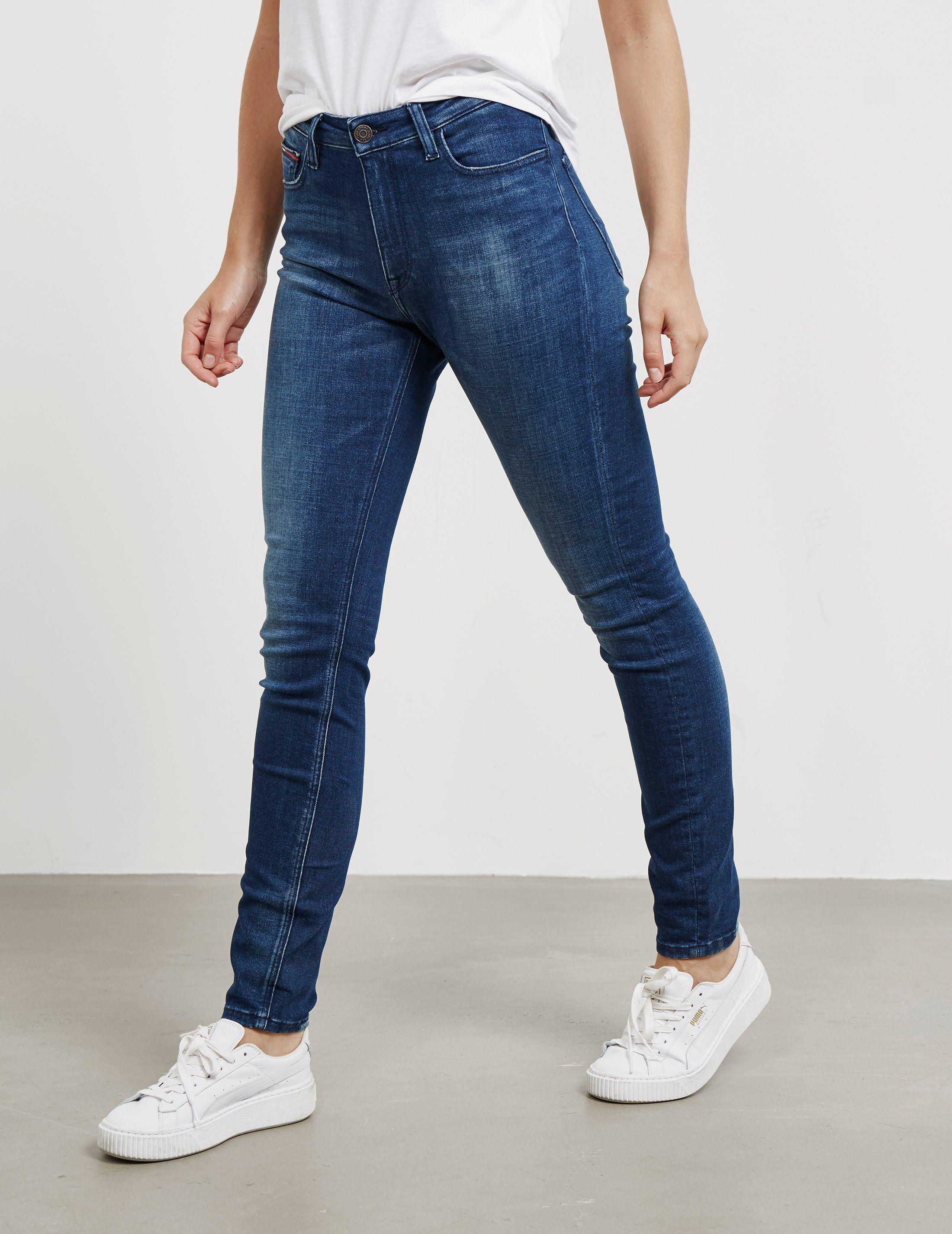 Tommy Jeans Santana High Rise Skinny Jeans