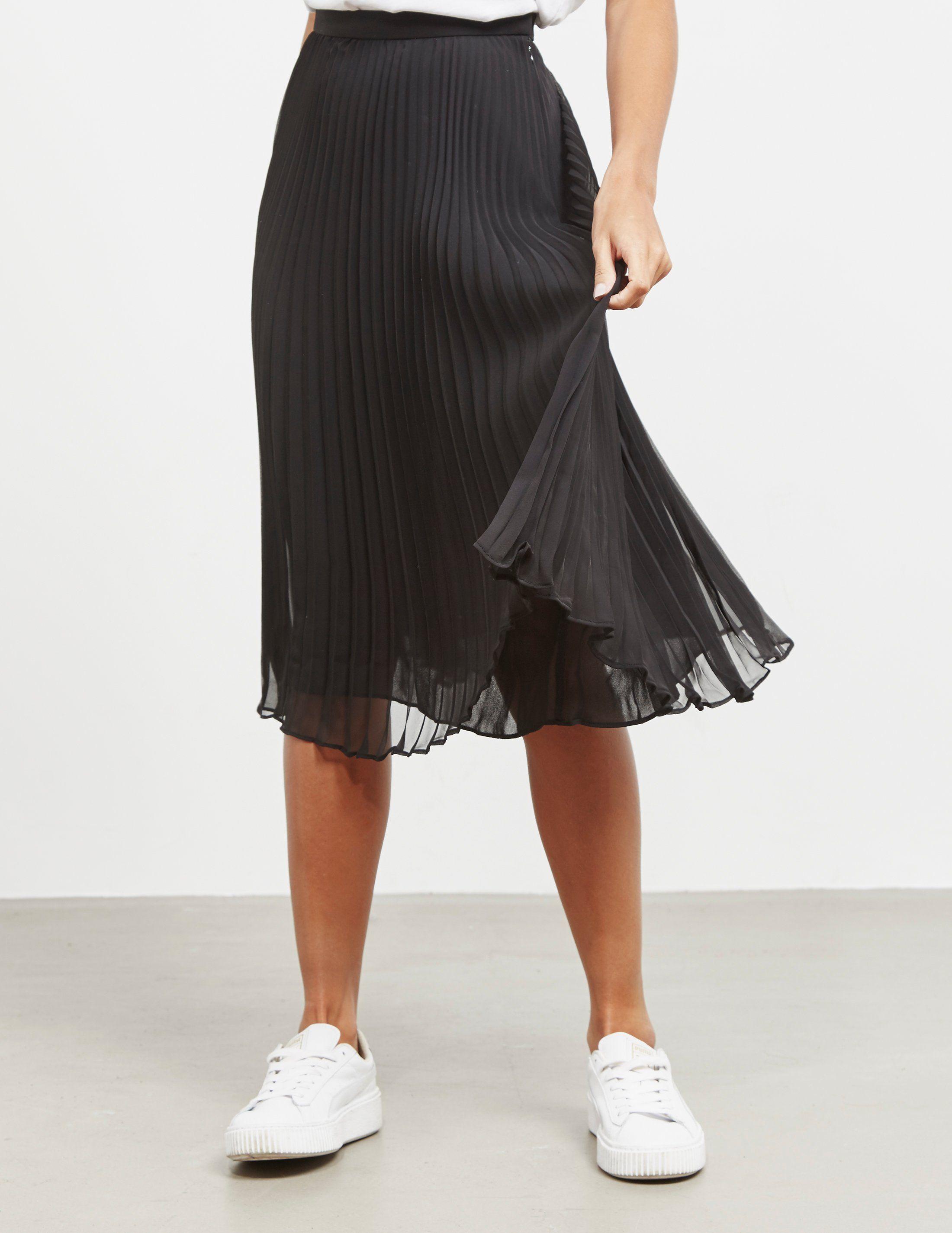Polo Ralph Lauren Pleated Midi Skirt