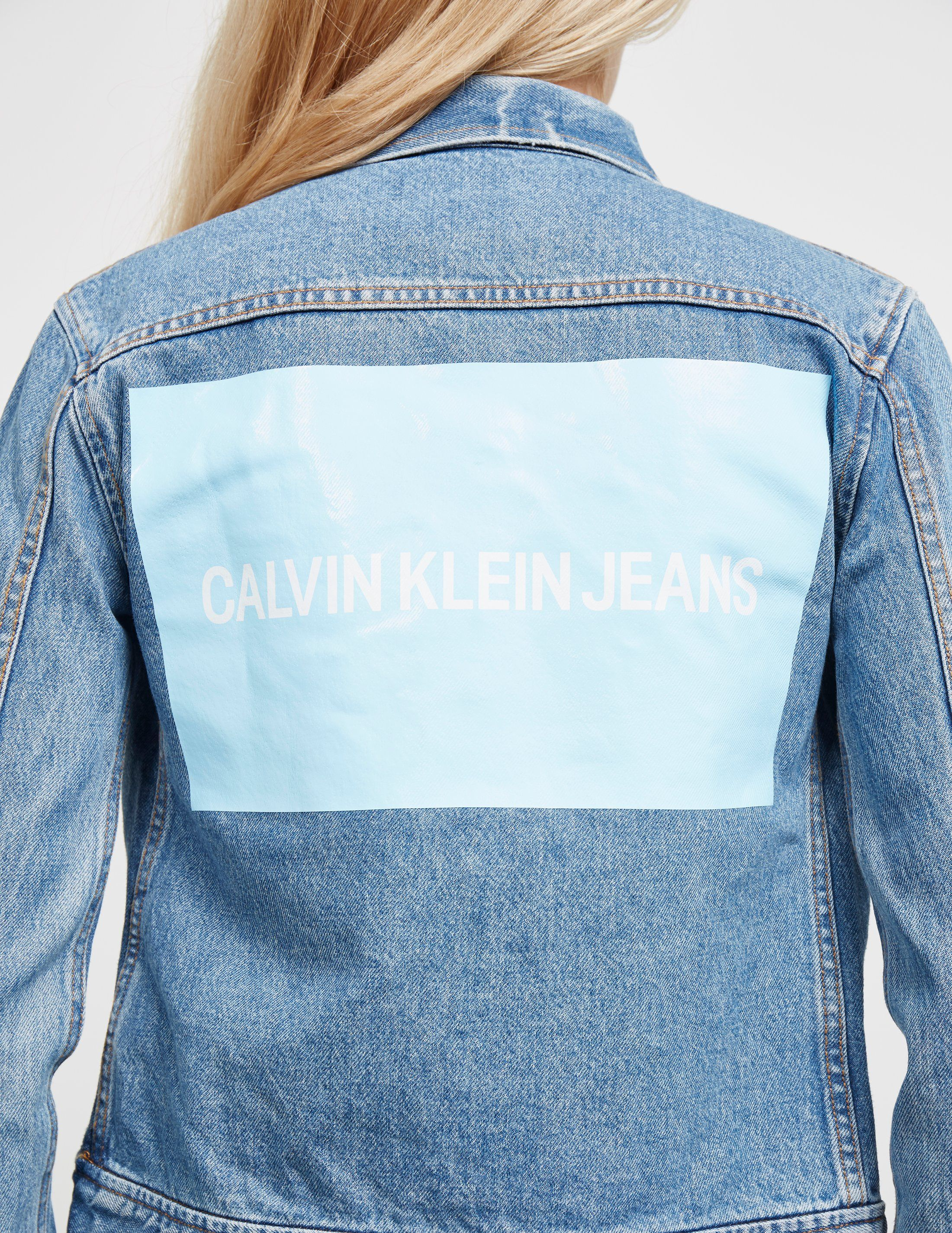 Calvin Klein Jeans Trucker Denim Jacket - Online Exclusive