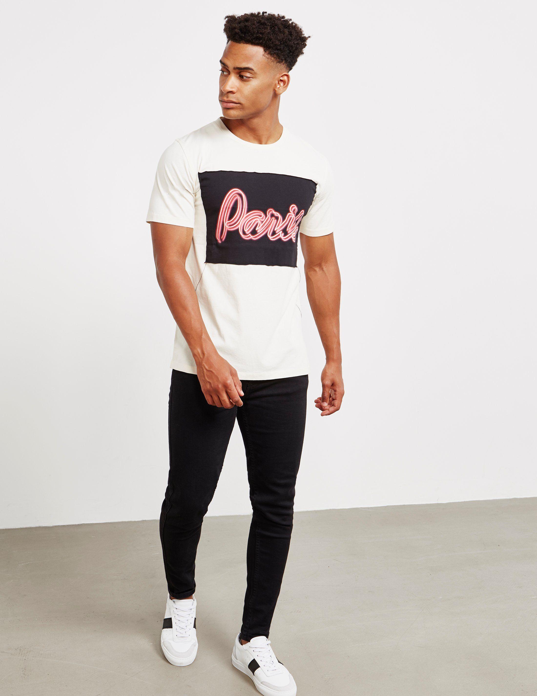 Maison Margiela Paris Short Sleeve T-Shirt