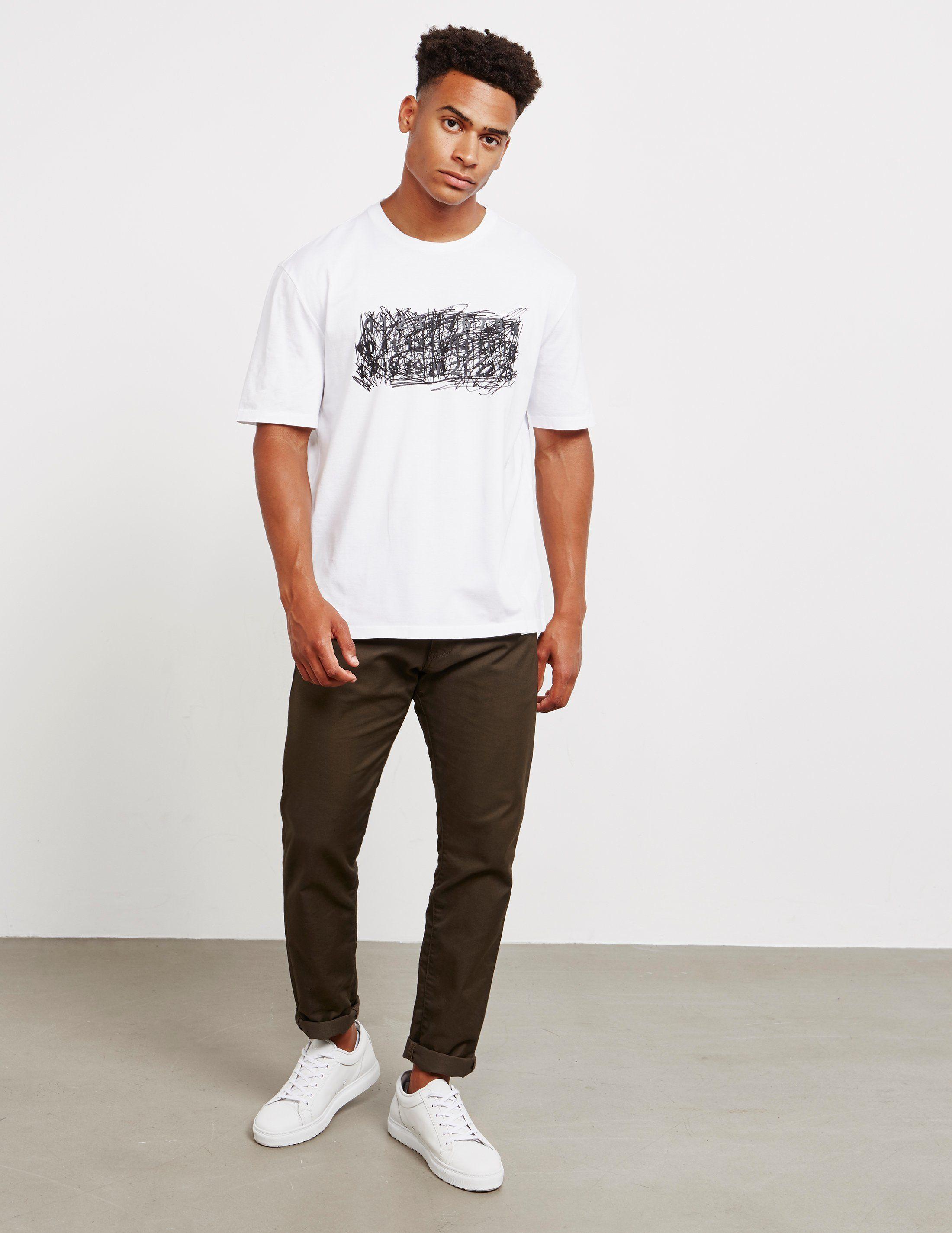 Maison Margiela Scribble Short Sleeve T-Shirt