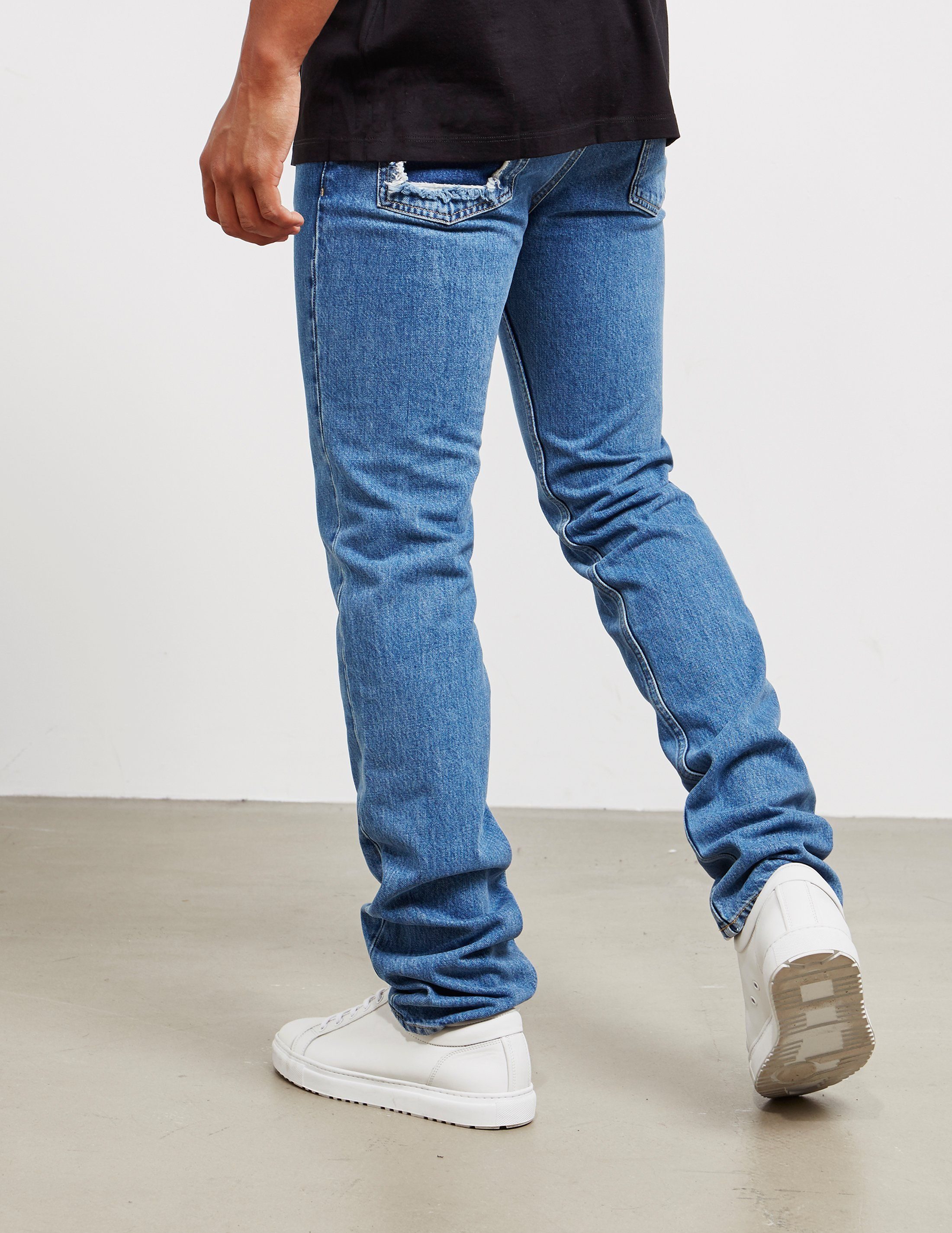 Maison Margiela Decorte Fitted Jeans