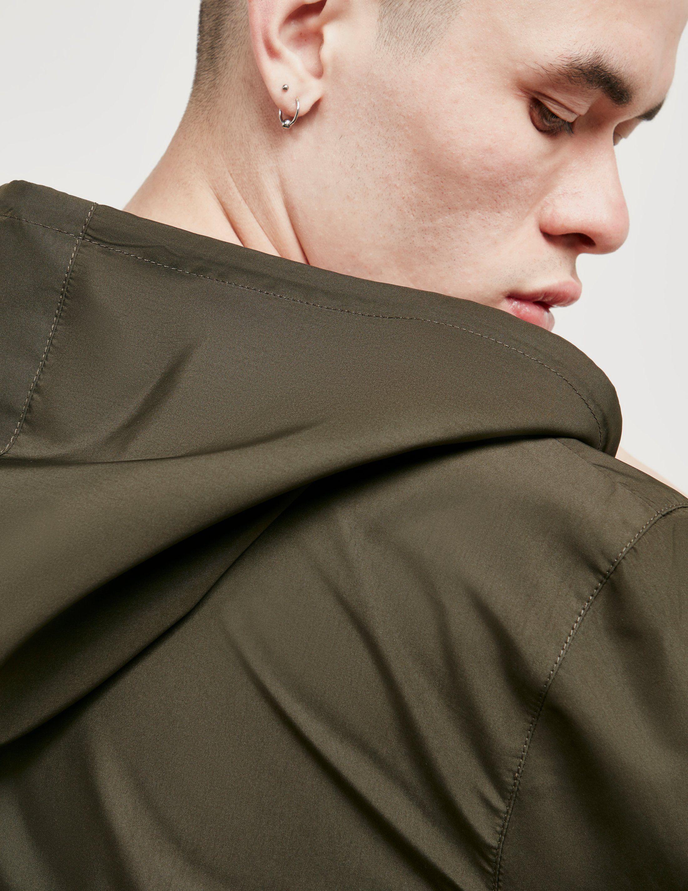 AMI Paris Hooded Windbreaker Jacket