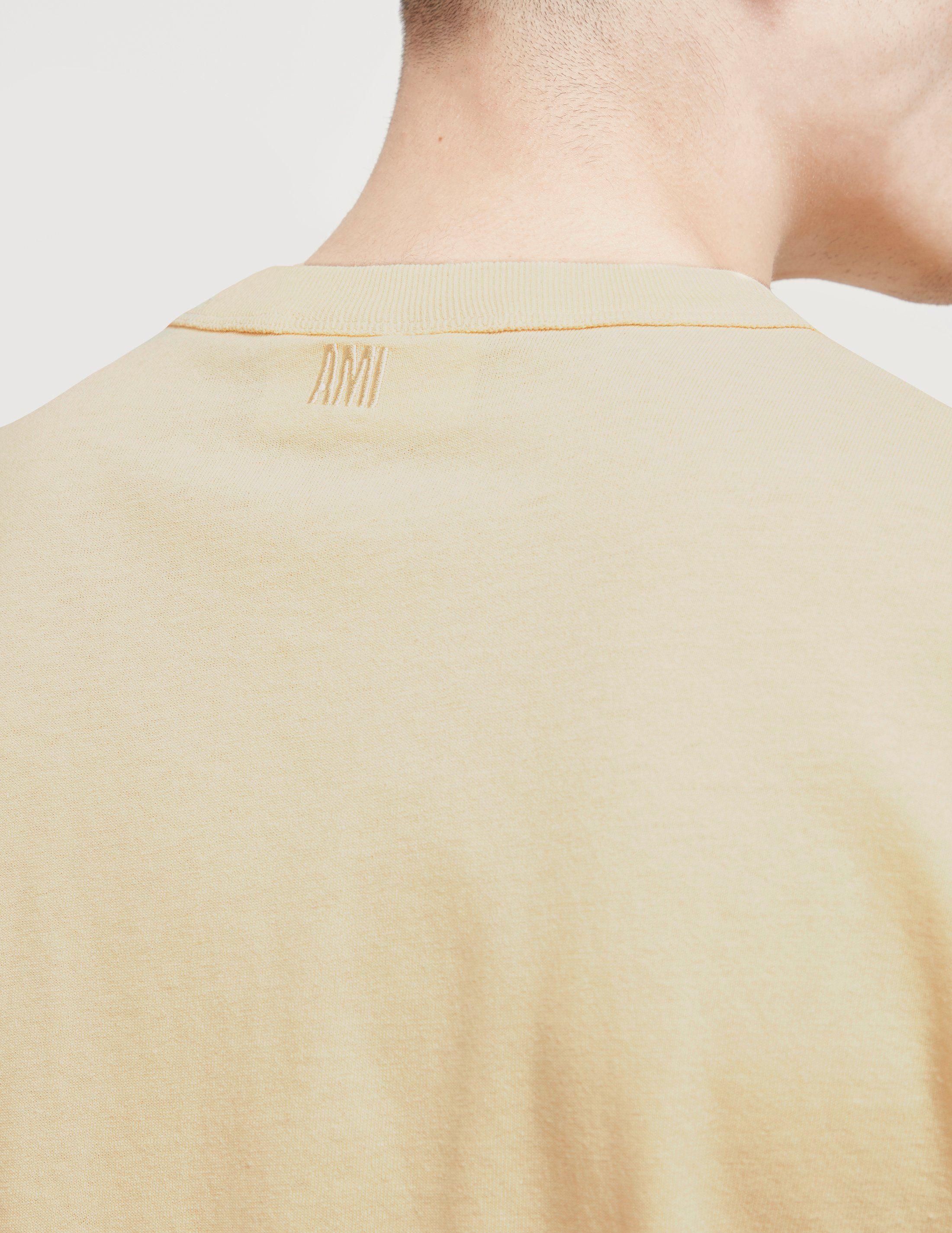 AMI Paris Heart Short Sleeve T-Shirt