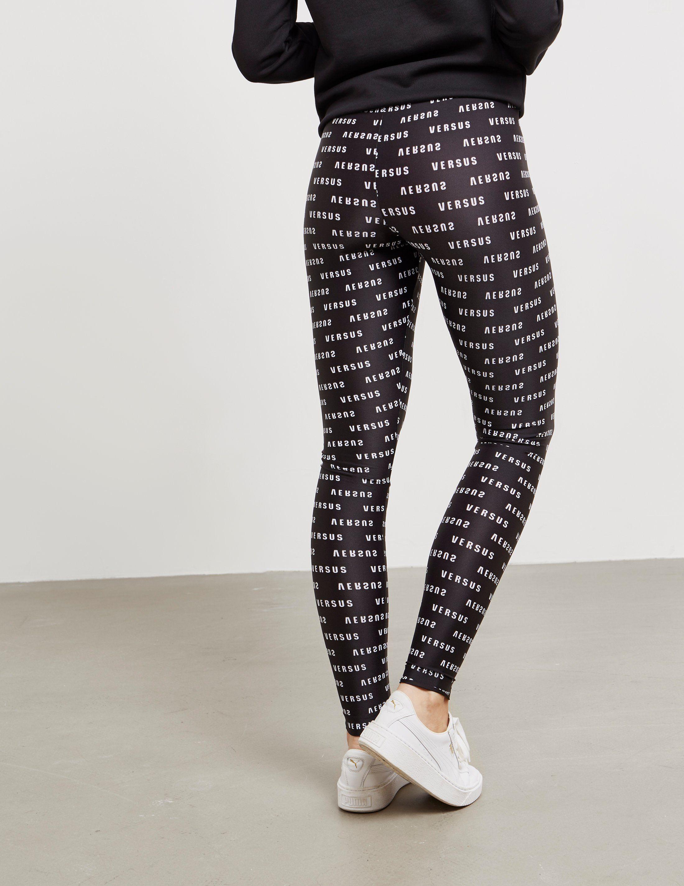 Versus Versace Printed Leggings