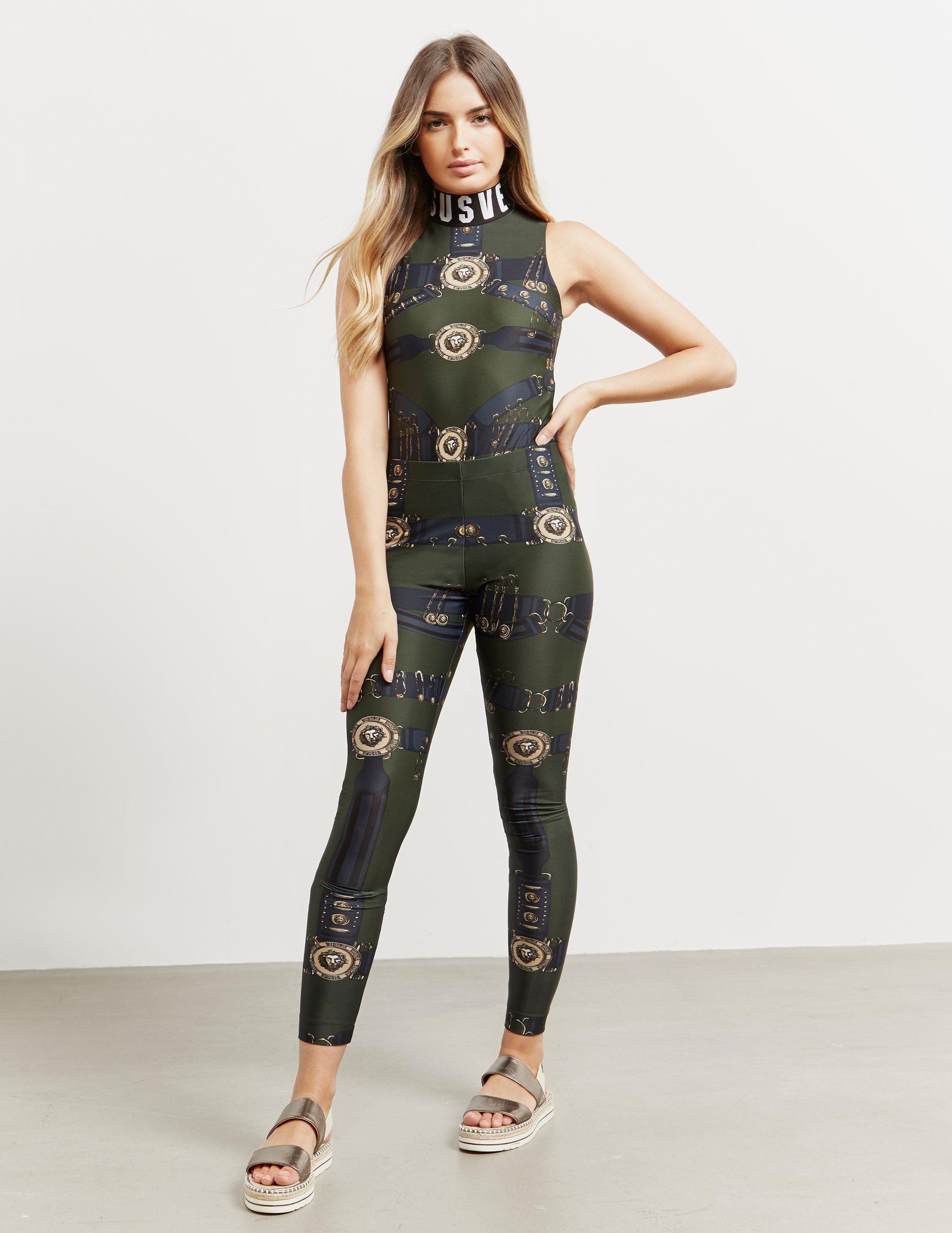 Versus Versace Graphic Print Leggings - Online Exclusive