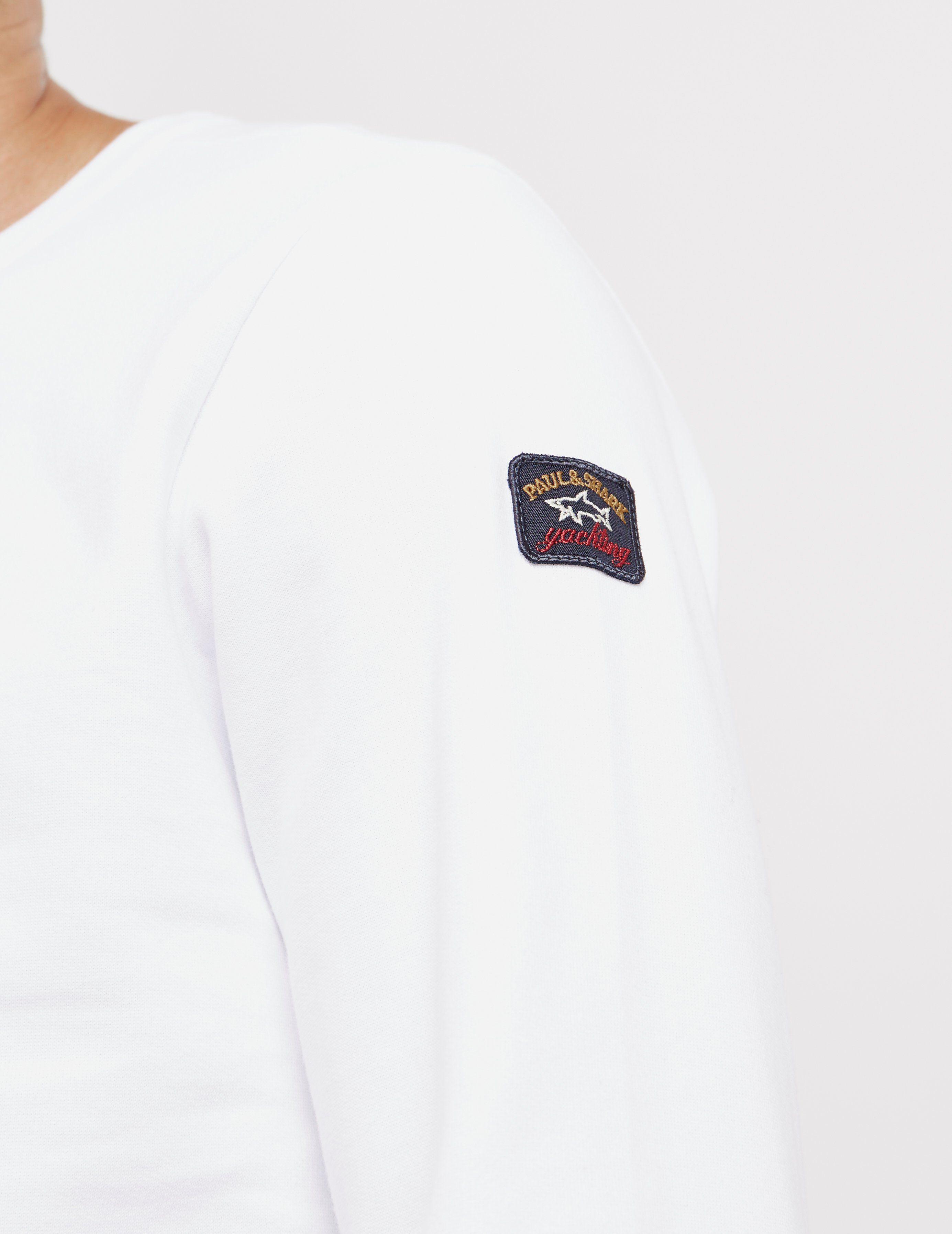 Paul and Shark Fleece Crew Sweatshirt - Online Exclusive