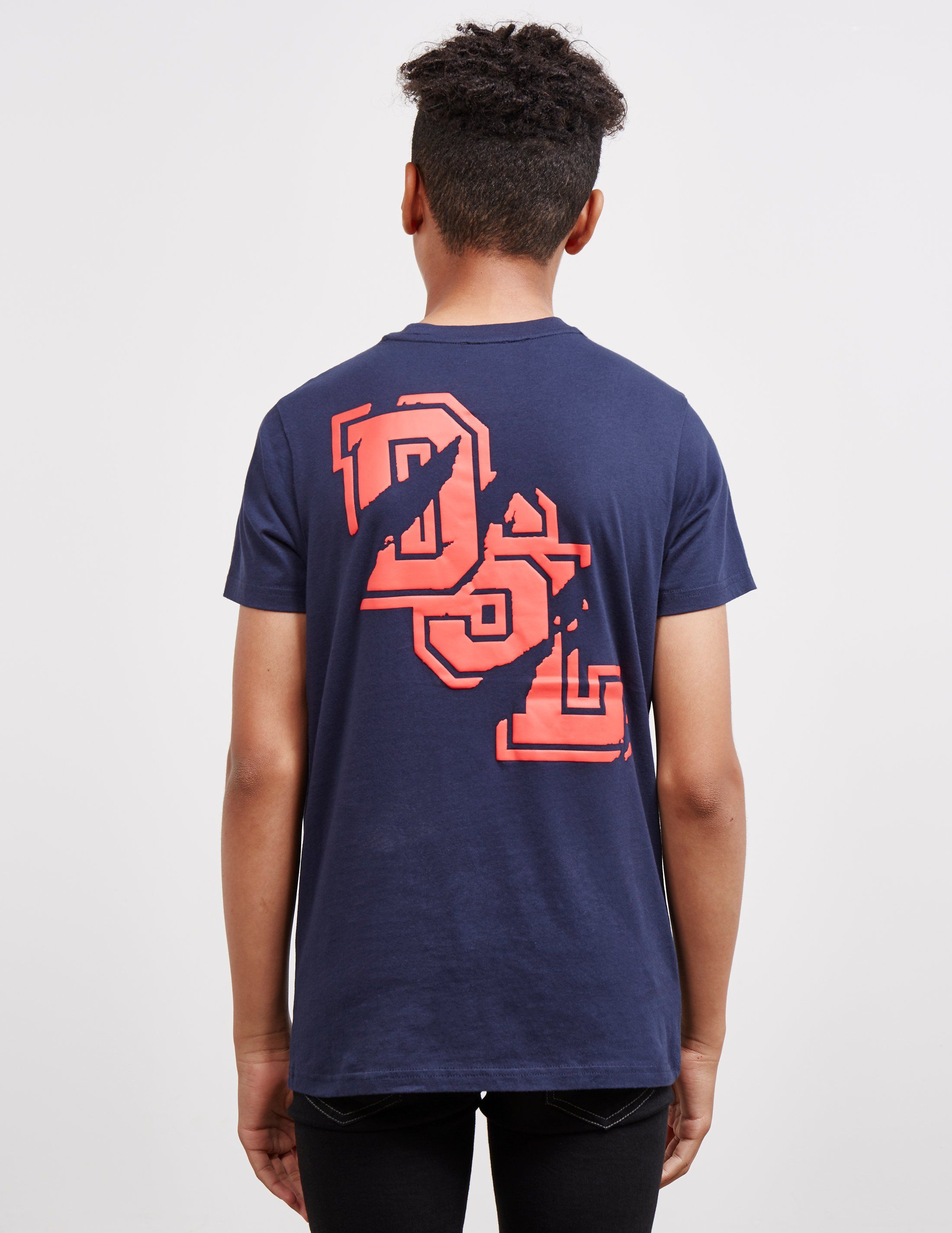 Diesel Broken Logo Short Sleeve T-Shirt