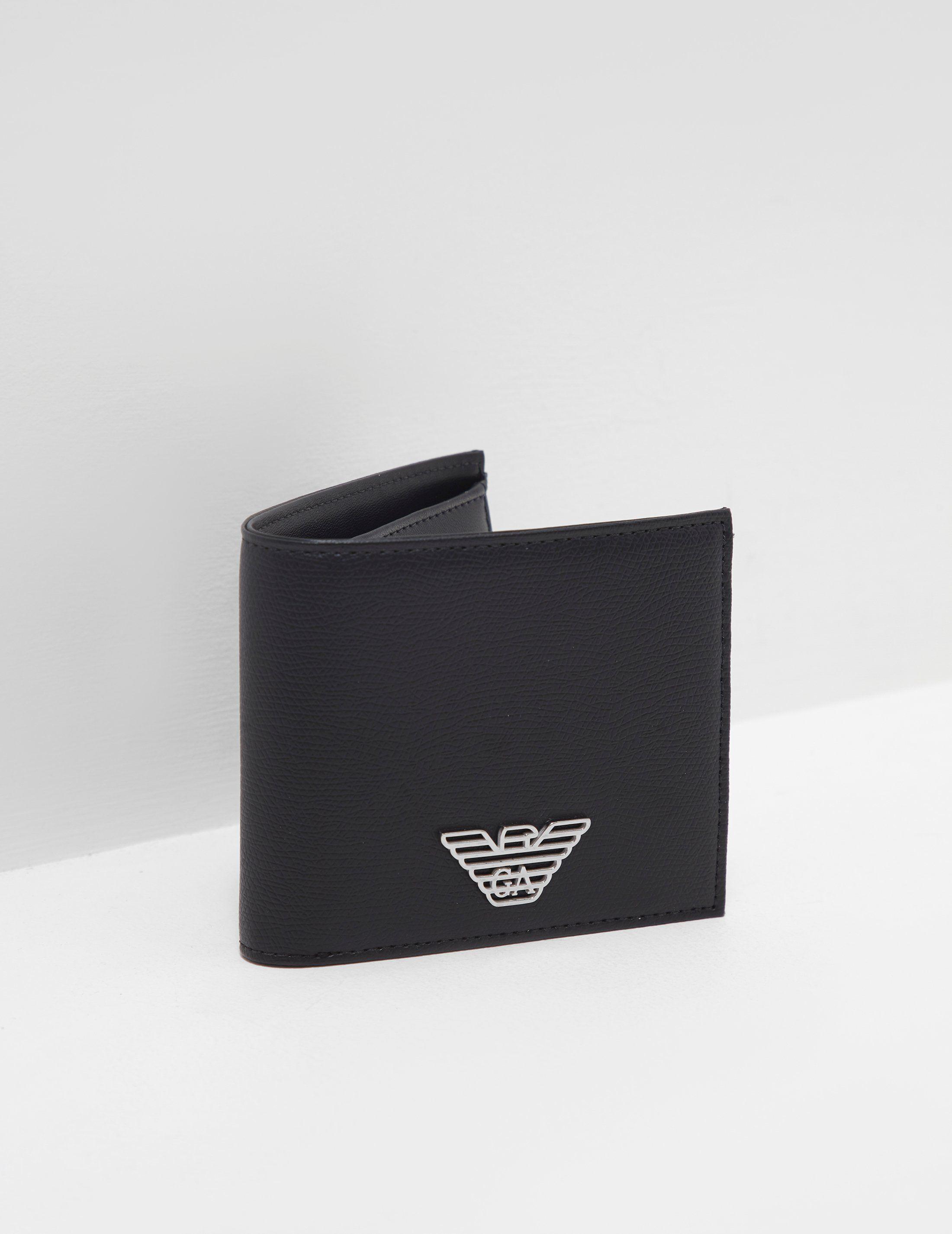 Emporio Armani Metal Logo Wallet