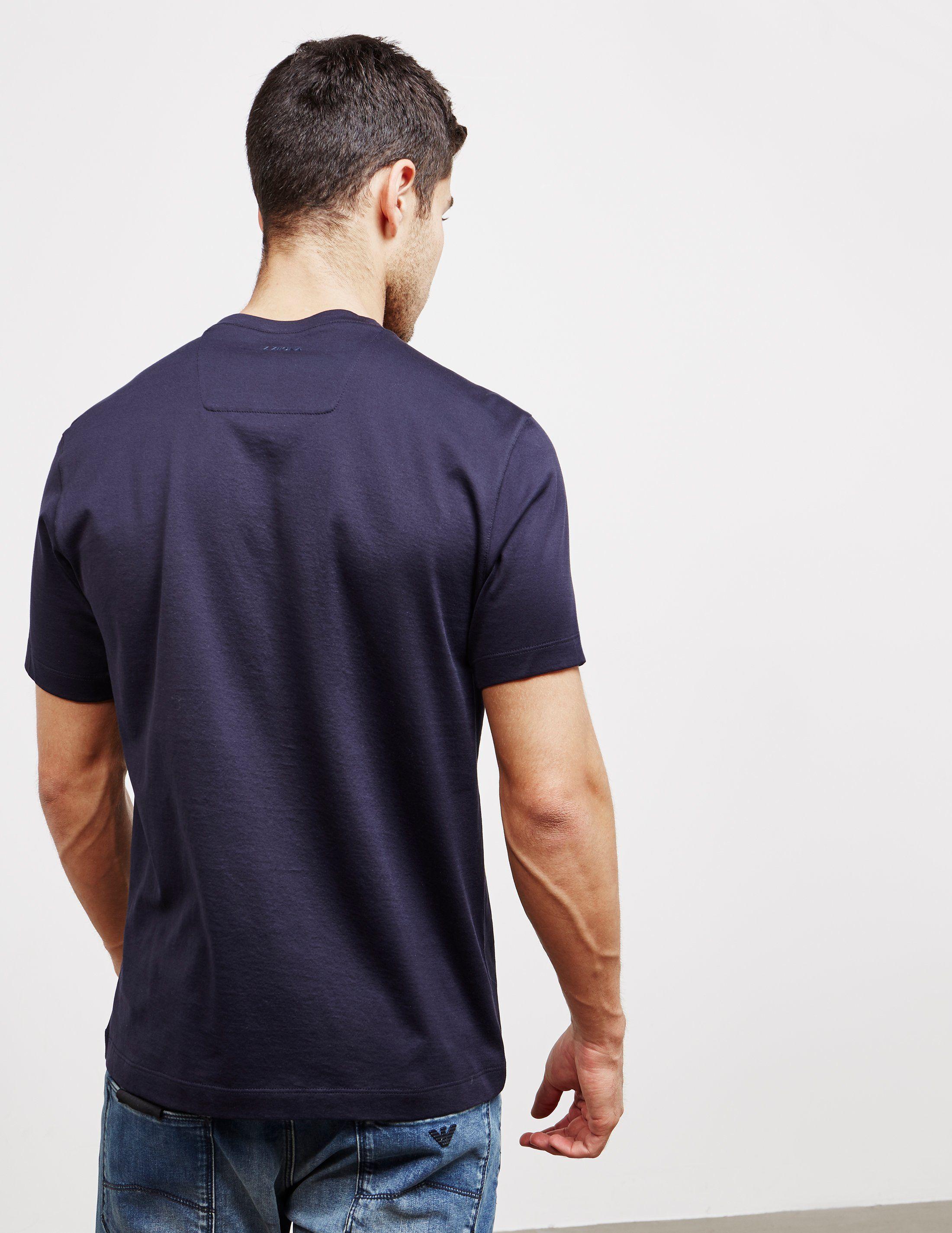 Z Zegna Chess Short Sleeve T-Shirt