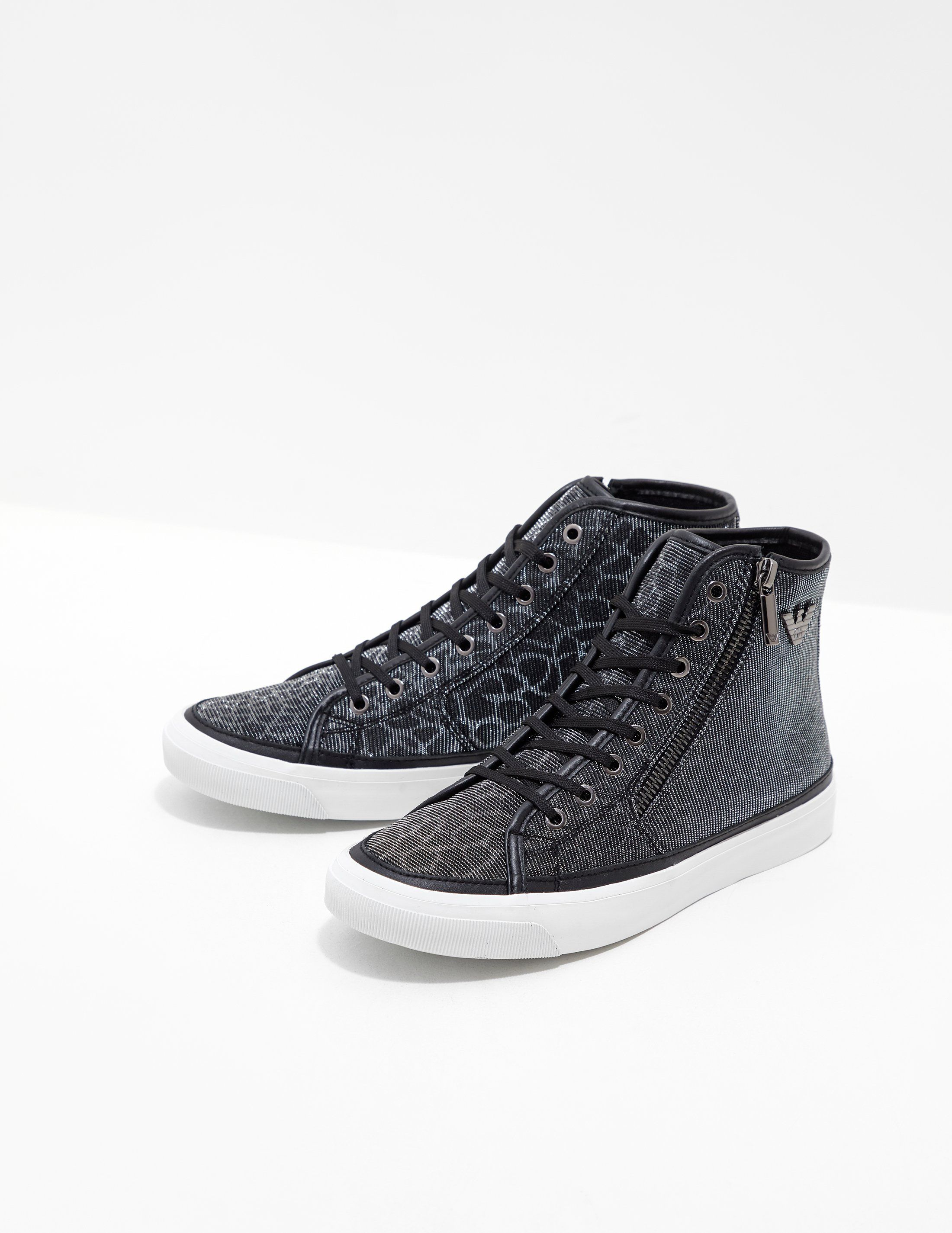 Emporio Armani High Top Trainers