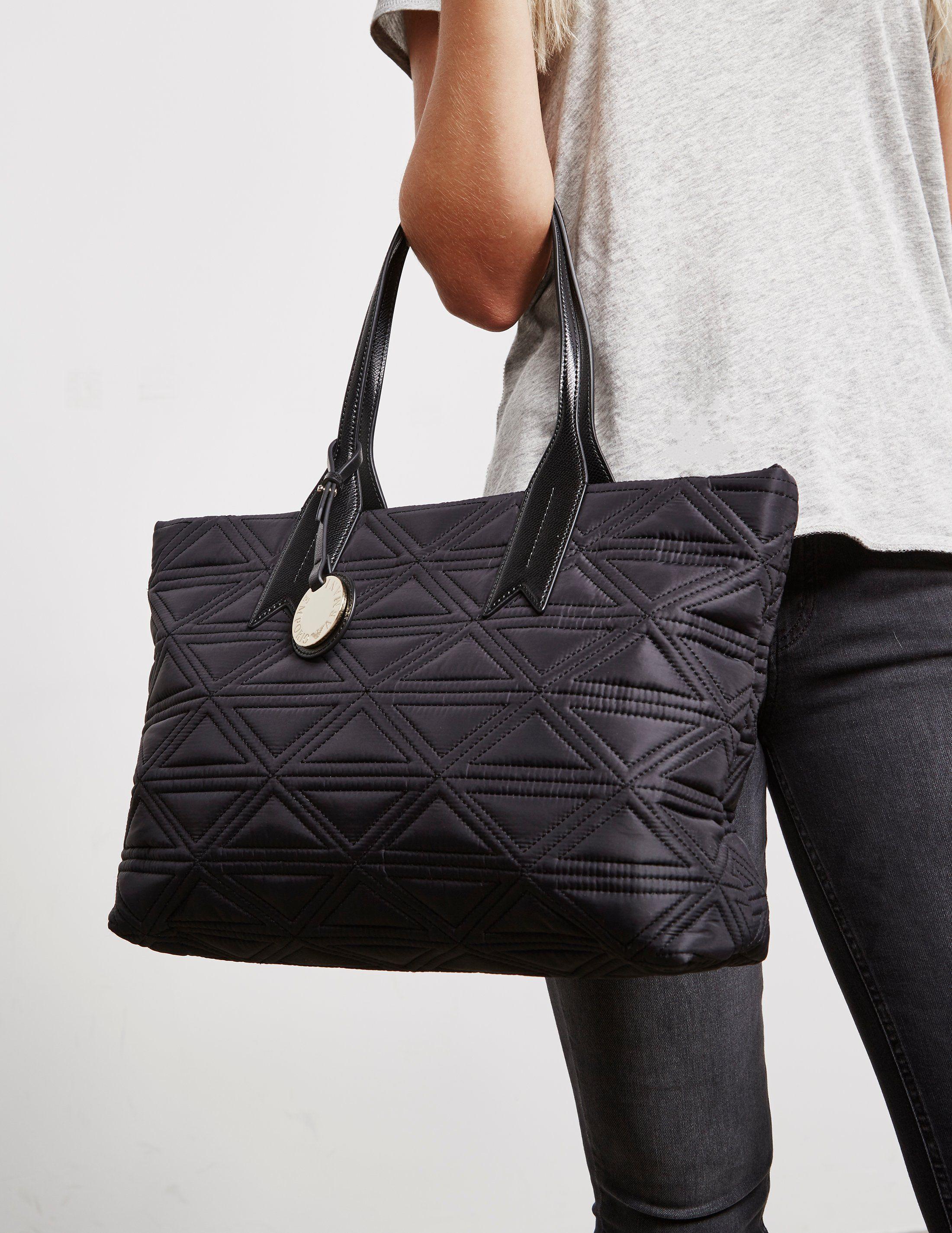 Emporio Armani Quilted Shopper Bag