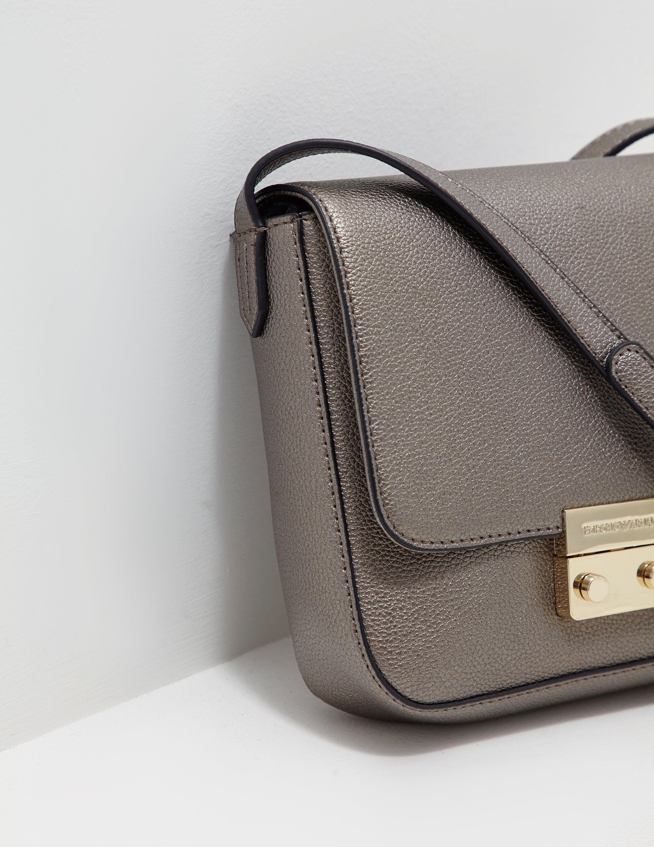 Emporio Armani Glitter Shoulder Bag