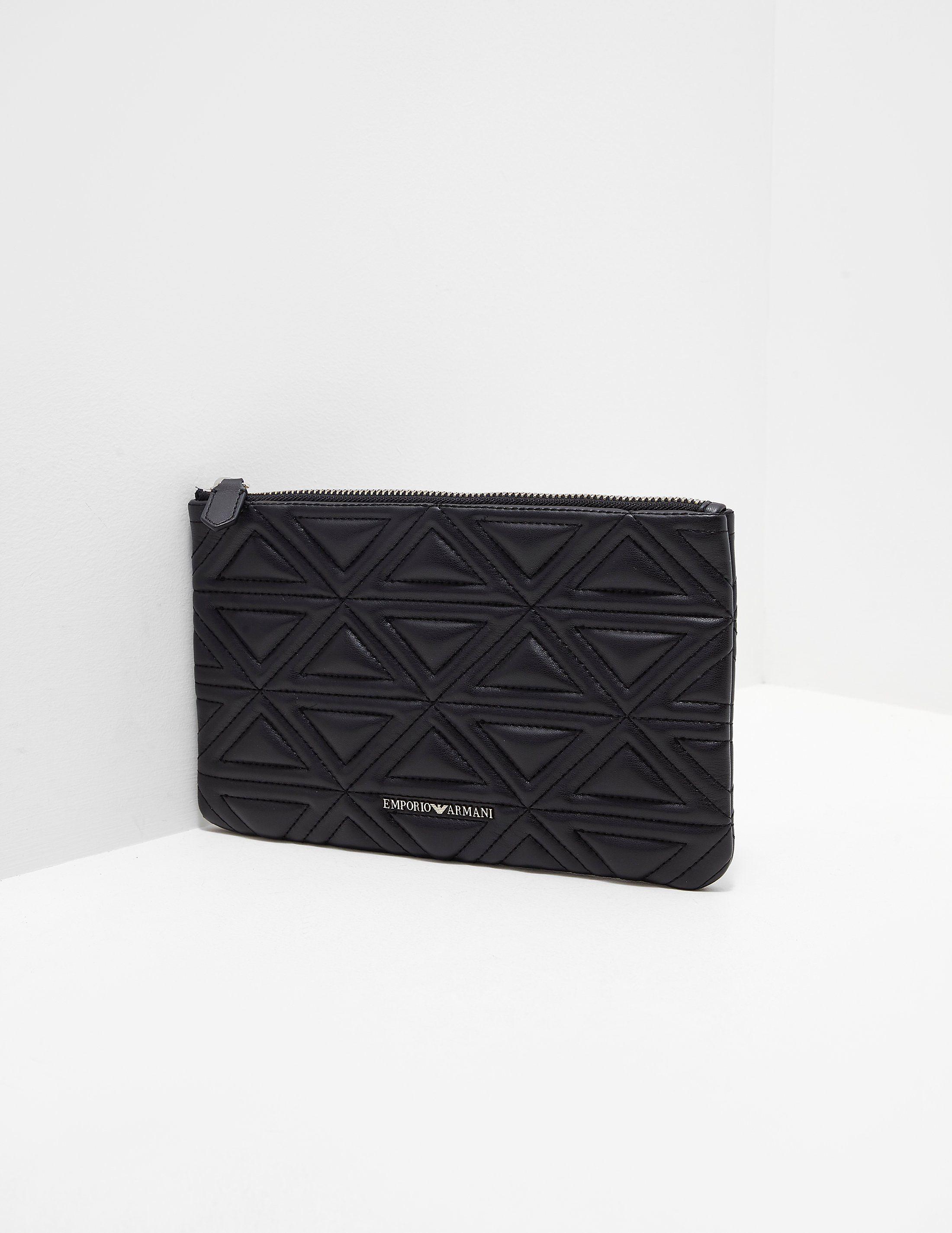 Emporio Armani Quilted Clutch Bag  2844f8157759e