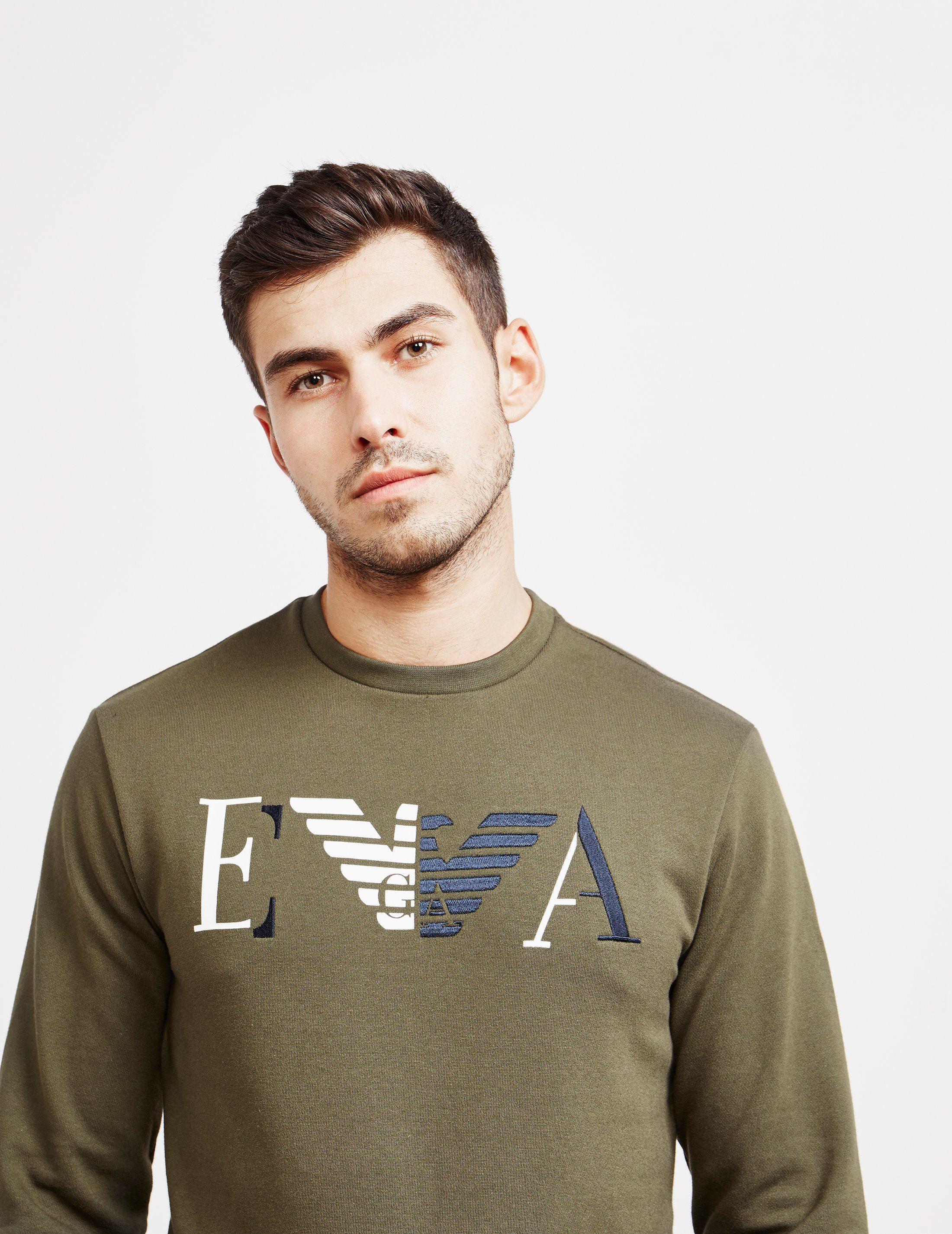 Emporio Armani Block Colour Sweatshirt