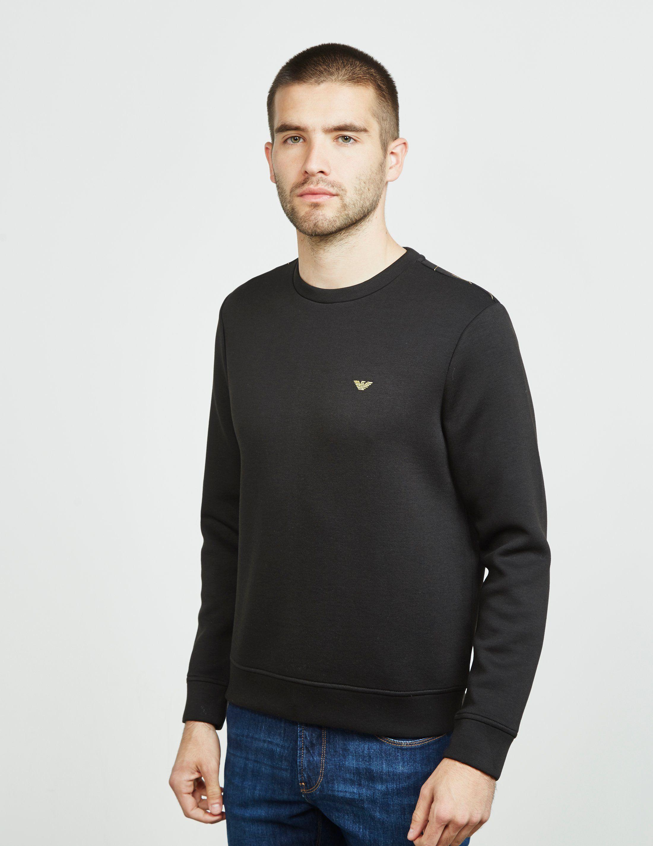 Emporio Armani Foil Eagle Sweatshirt