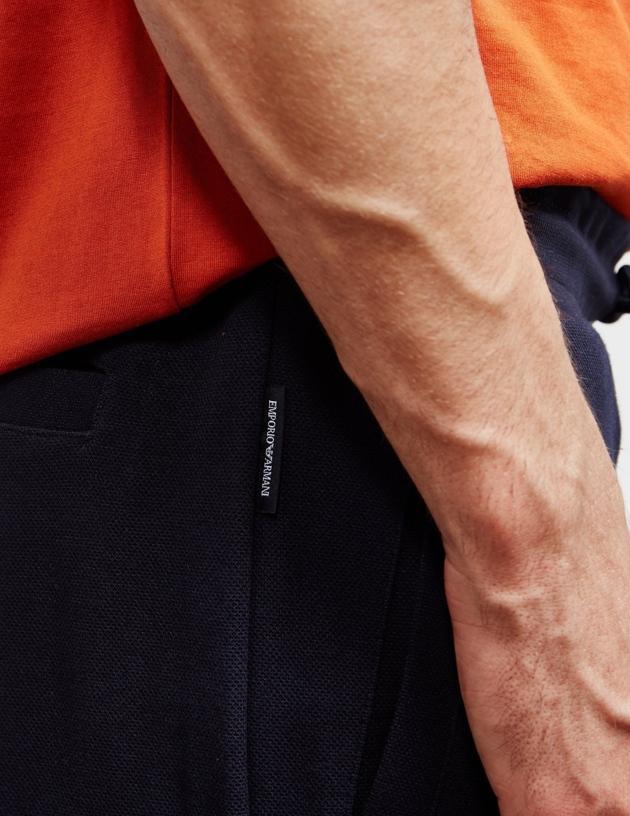 Emporio Armani Eagle Pique Track Pants
