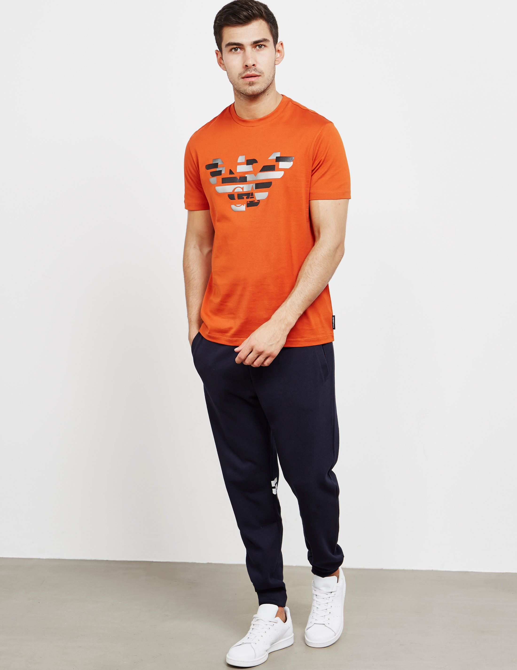 Emporio Armani Eco Patch Eagle Short Sleeve T-Shirt