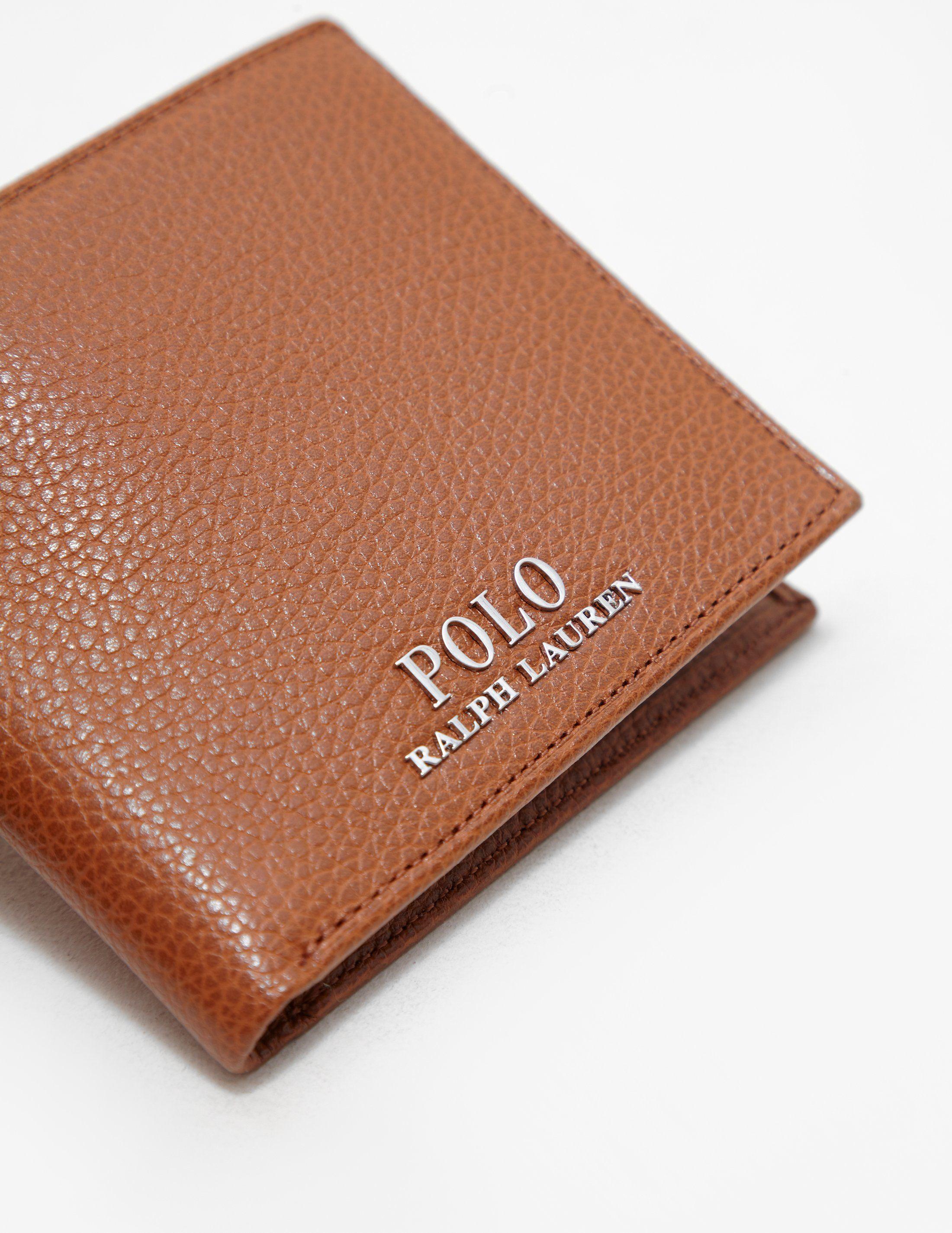 Polo Ralph Lauren Pebbled Wallet