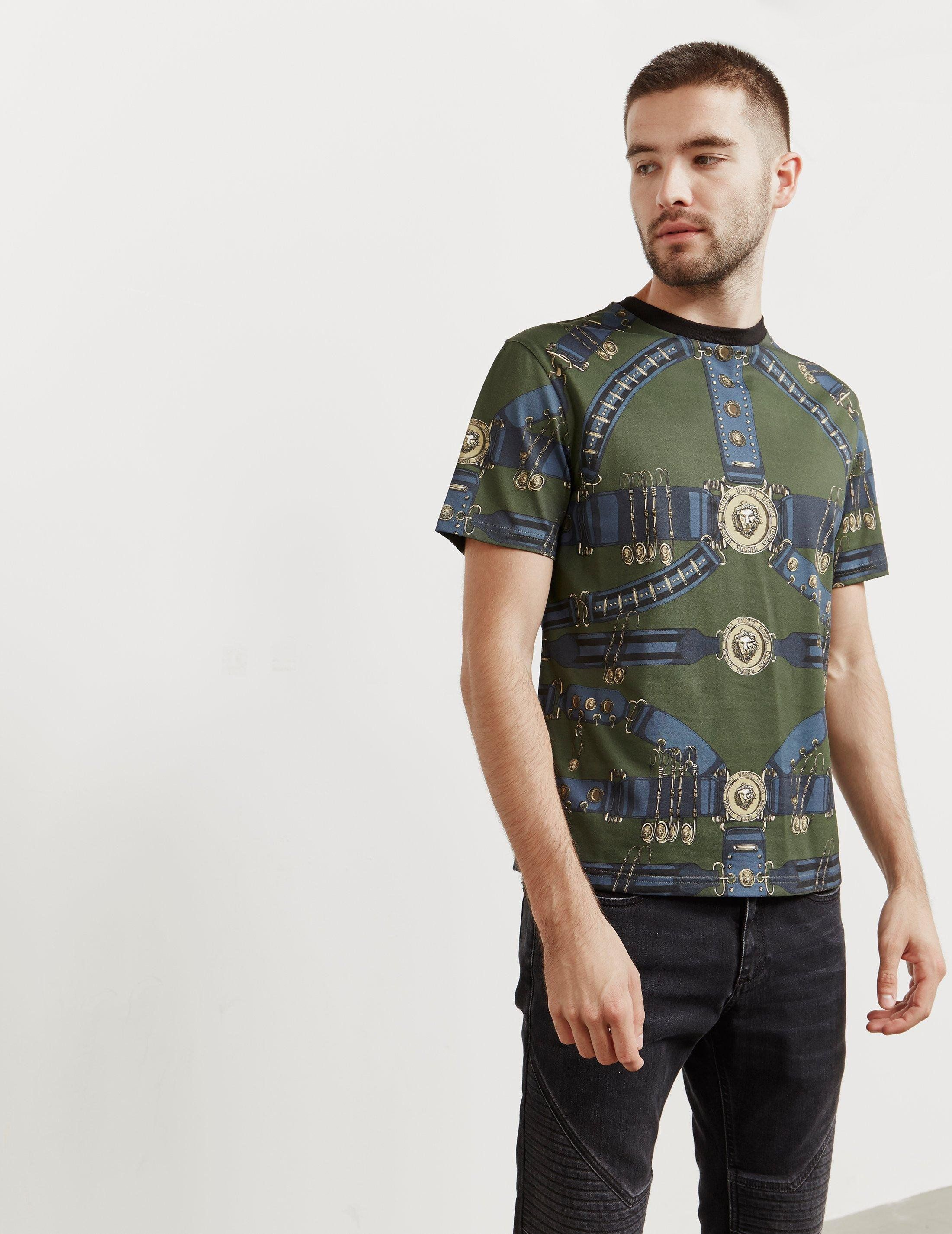 Versus Versace Printed Short Sleeve T-Shirt - Online Exclusive