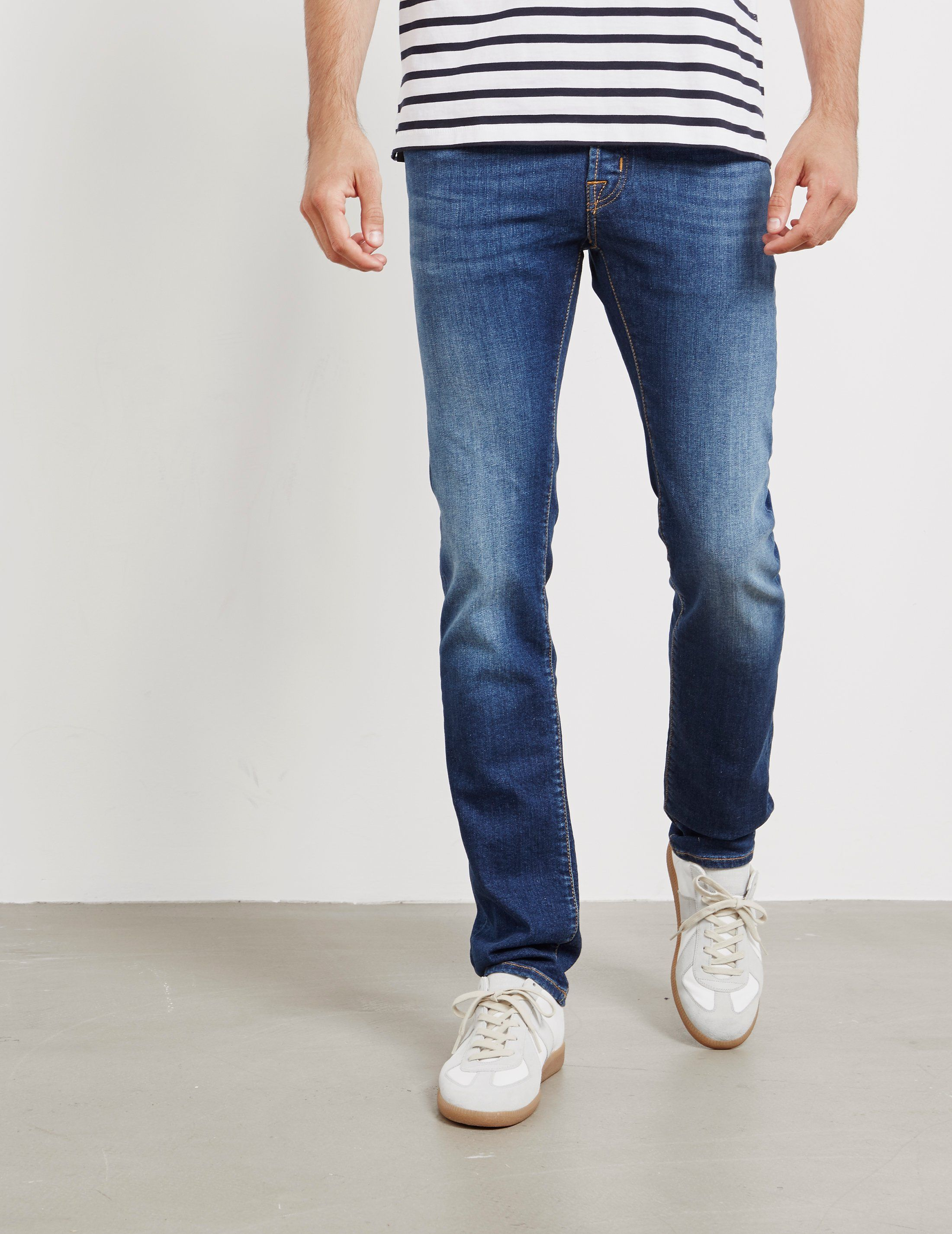 Jacob Cohen Regular Patch Jeans