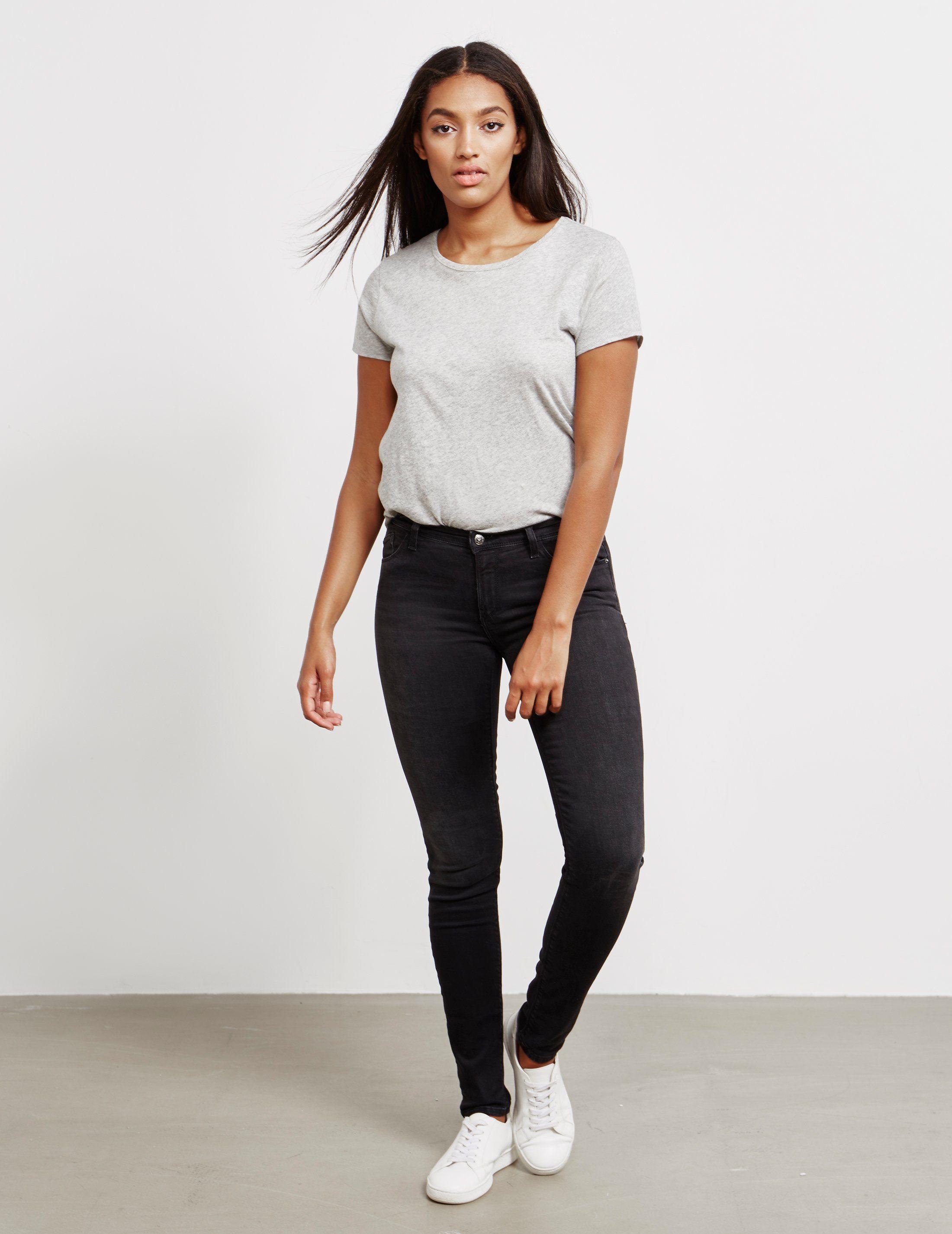 Emporio Armani Rinse Wash Slim Jeans