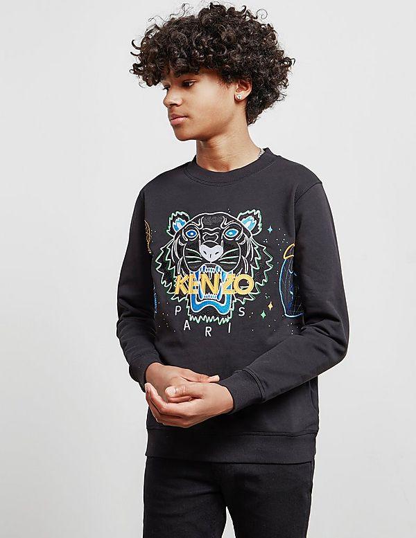 KENZO Tiger Sweatshirt   Tessuti ad80b7ea0ae