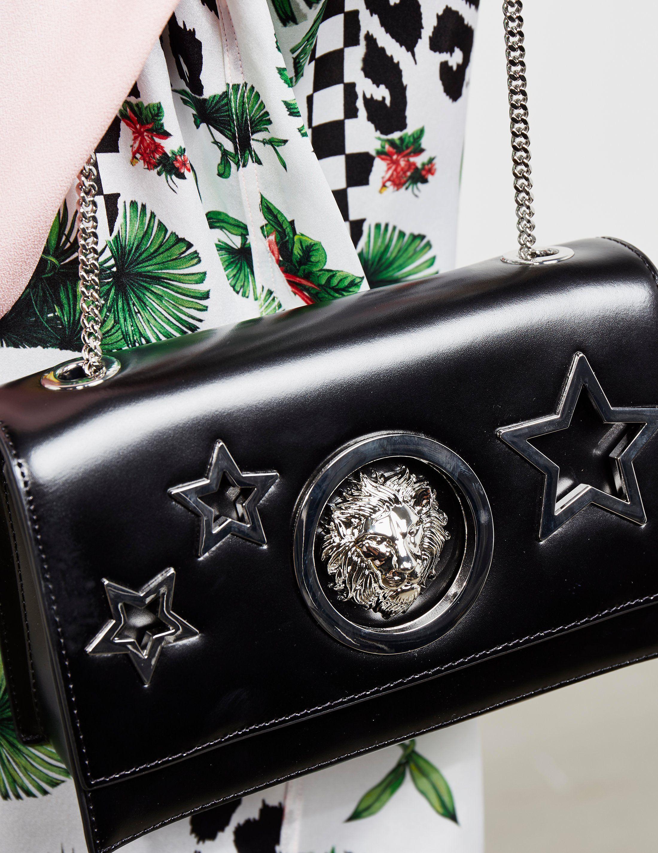 Versus Versace Star Lion Shoulder Bag