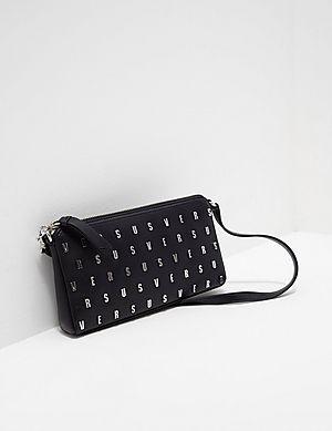 Versus Versace Repeat Logo Shoulder Bag 36b6521e5e5c8
