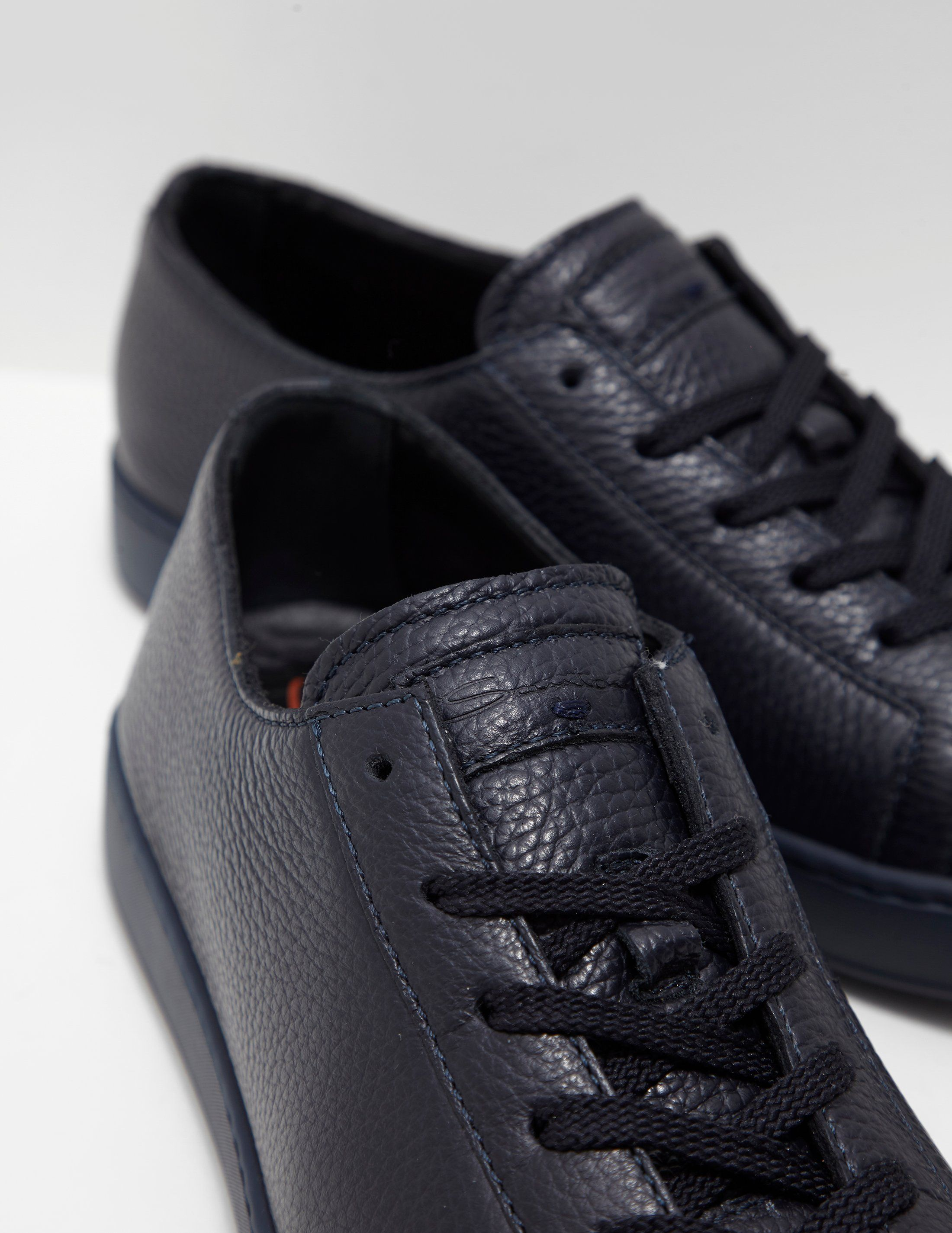 Santoni Pebble Trainers - Online Exclusive