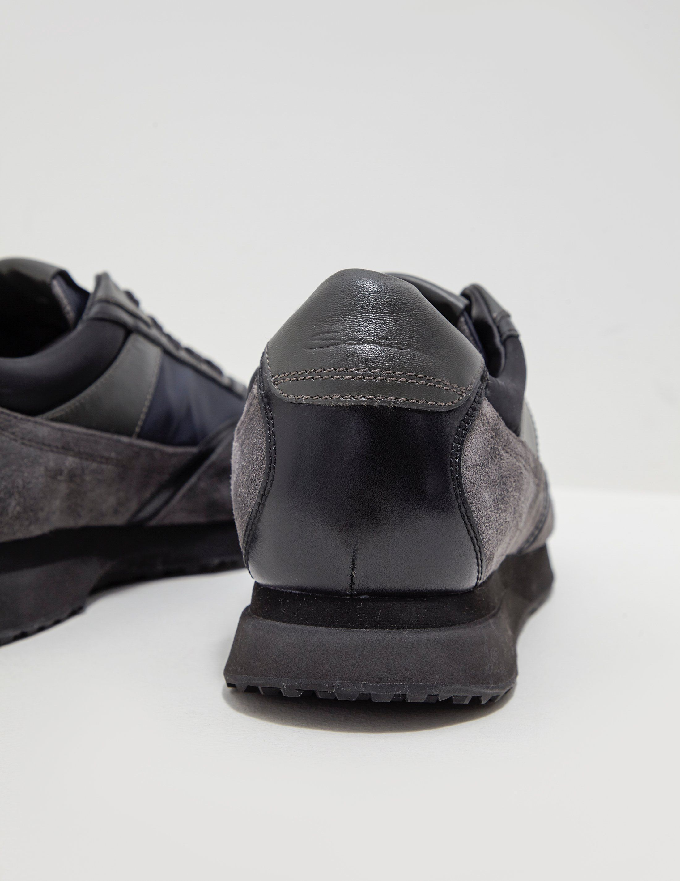 Santoni Nylon Trainers