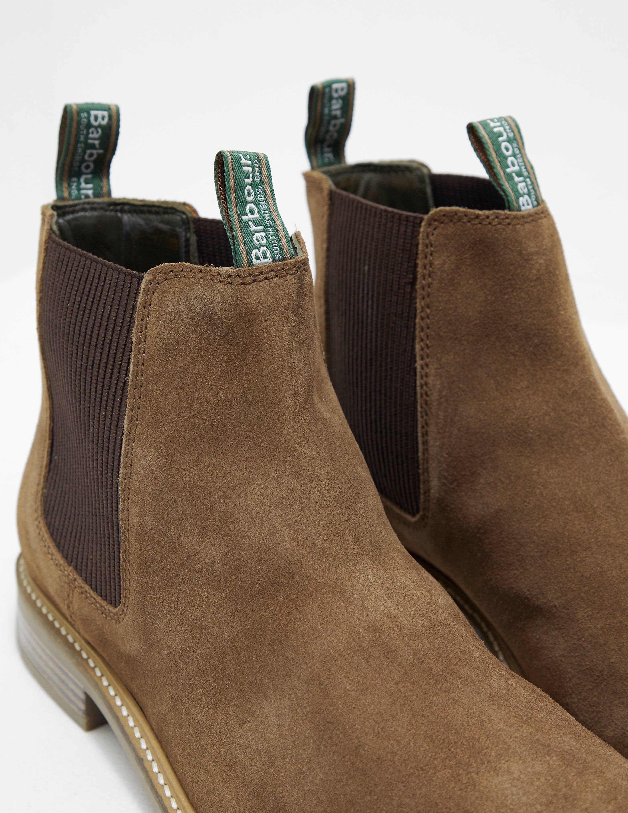 Barbour Farsley Suede Chelsea Boot