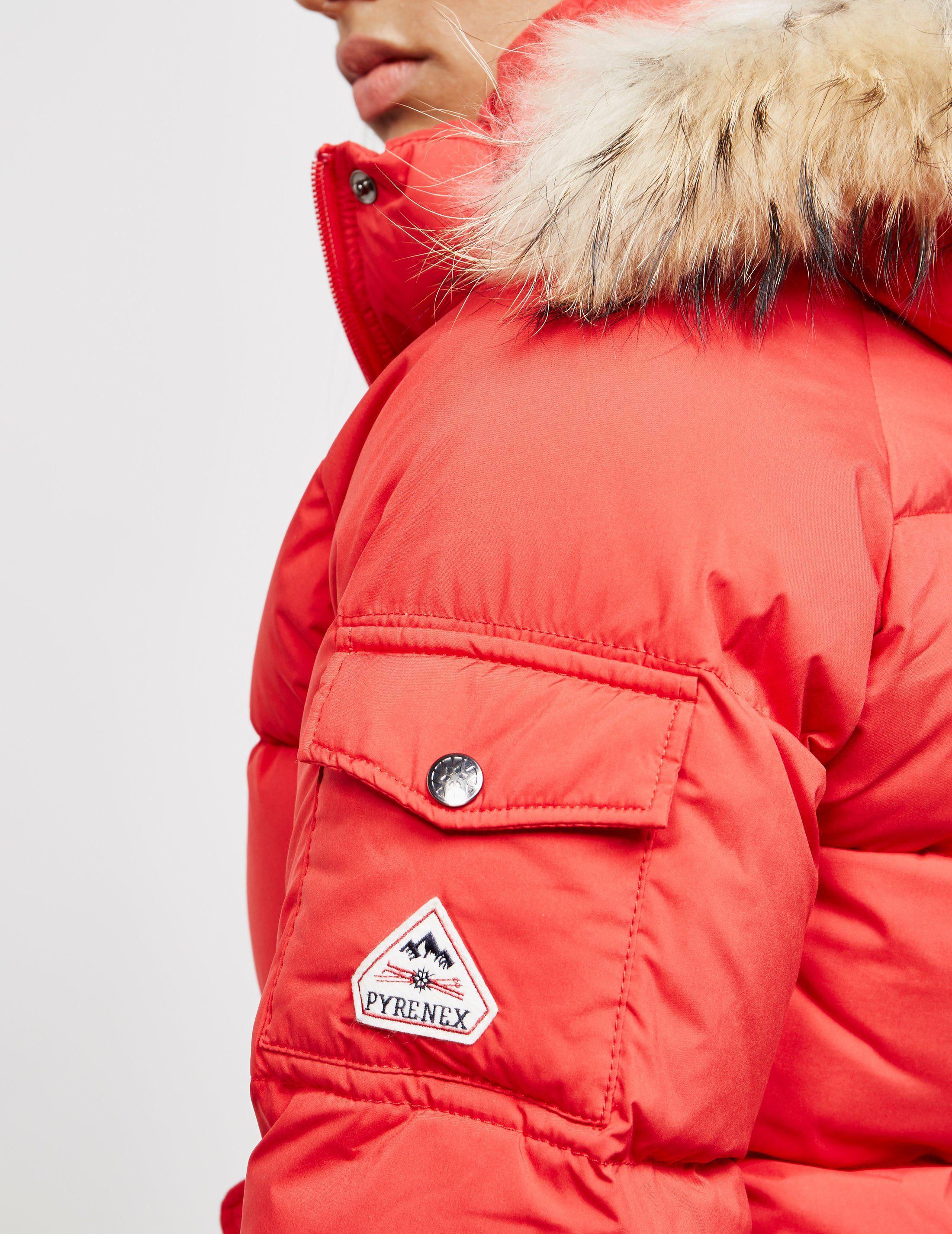 Pyrenex Aviator Soft Fur Jacket