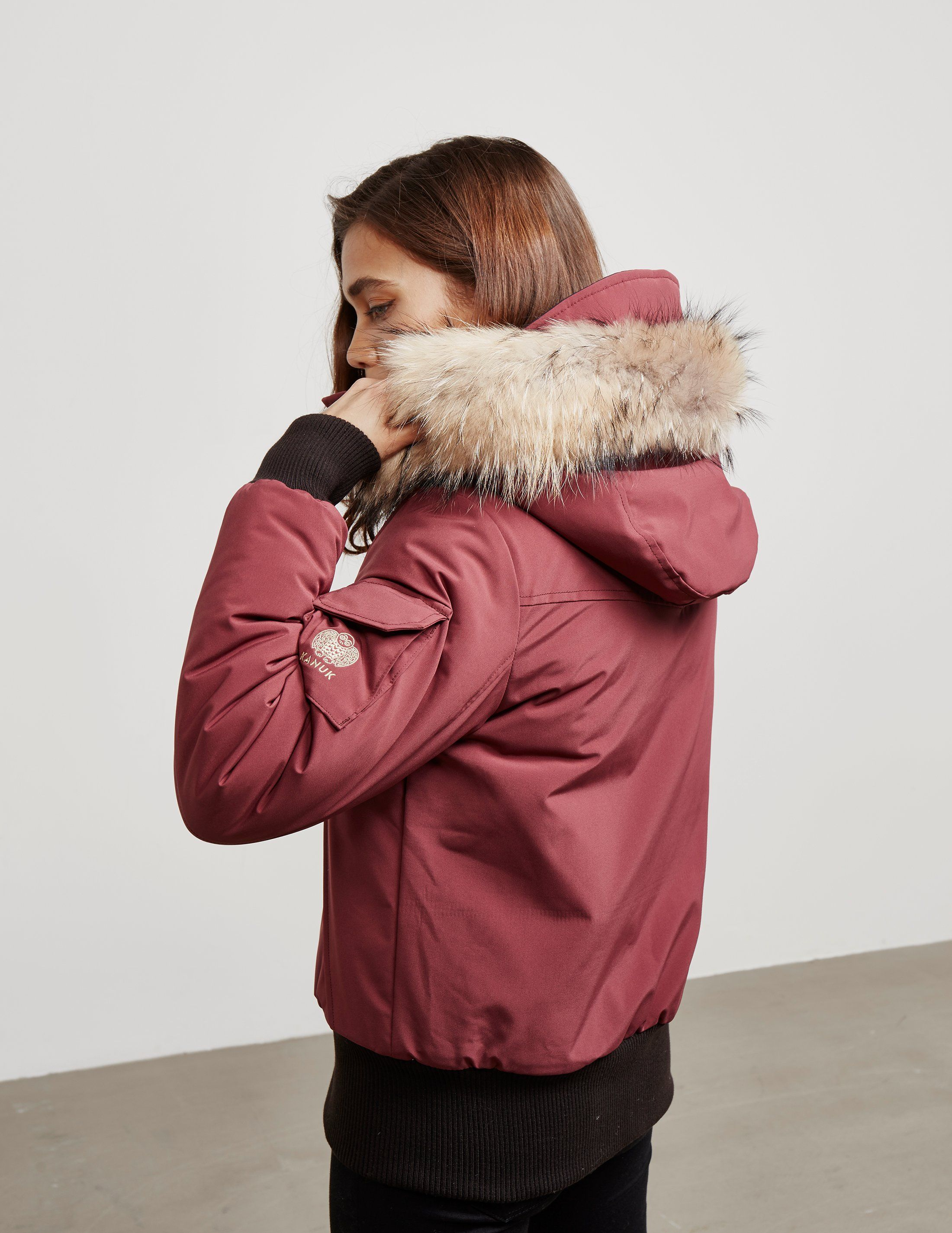 Kanuk Fur Bomber Jacket
