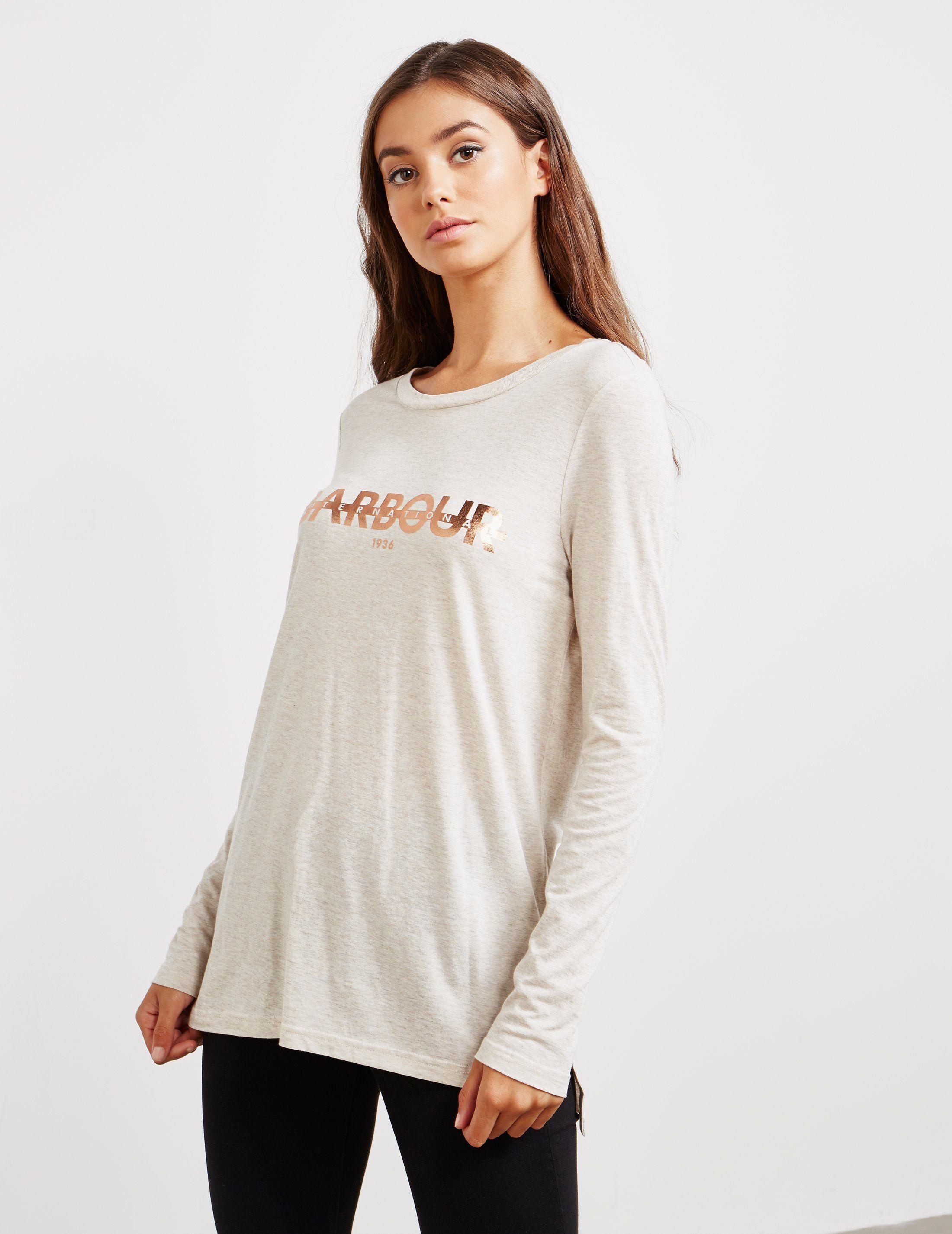 Barbour International Long Sleeve T-Shirt