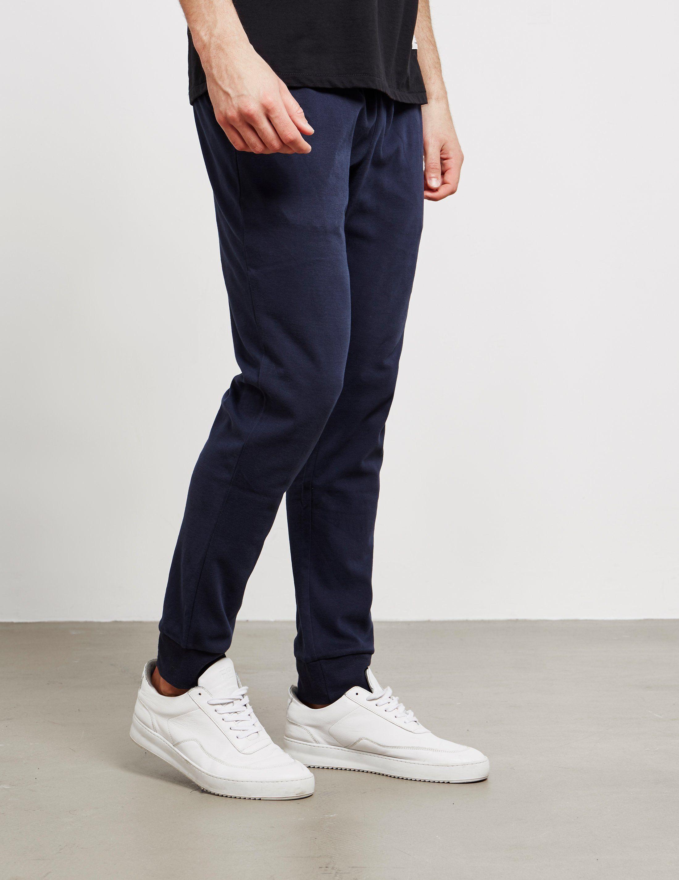 Emporio Armani Small Icon Cuffed Fleece Pants